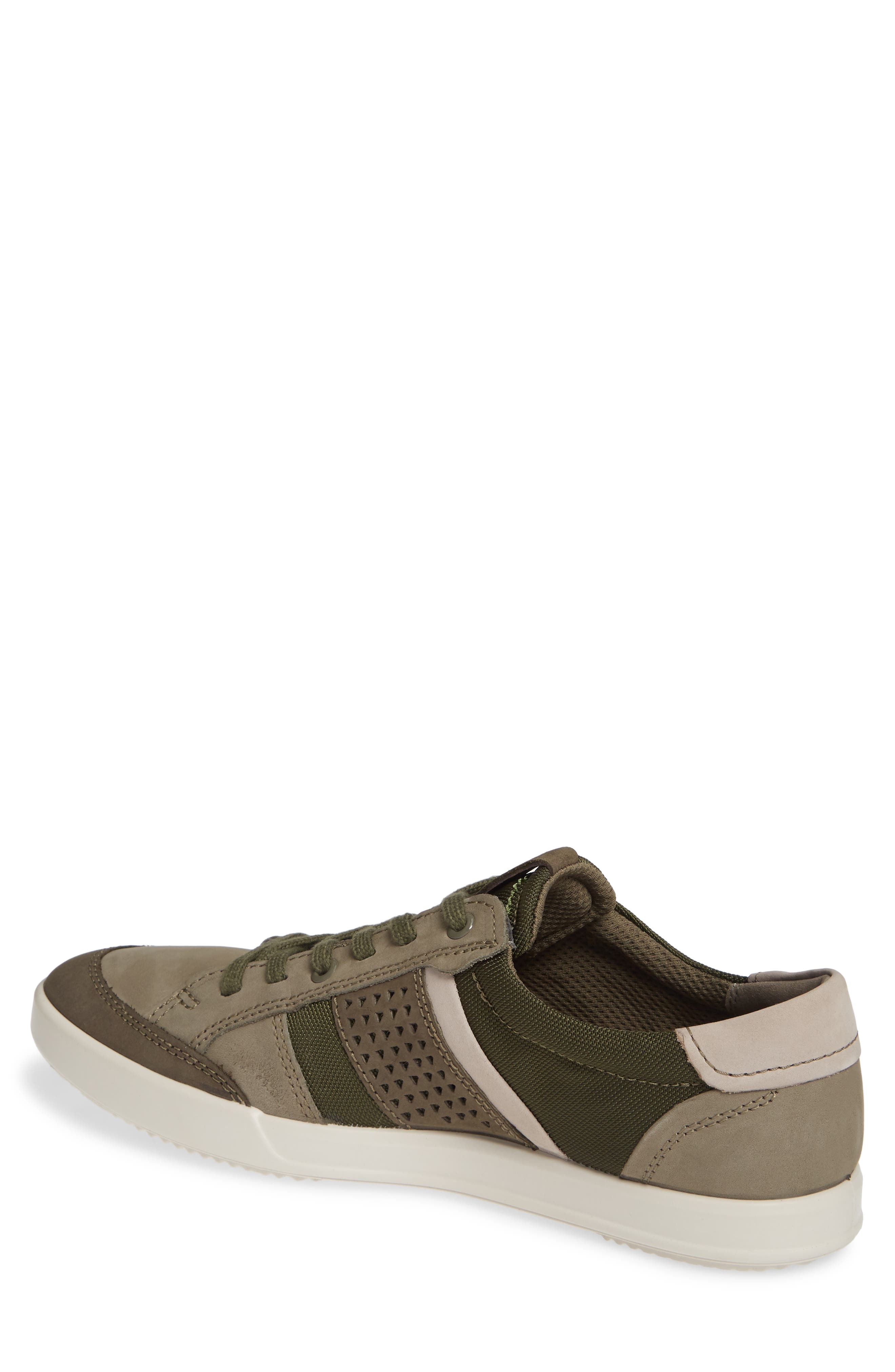 ECCO, Collin 2.0 Sneaker, Alternate thumbnail 2, color, TARMAC LEATHER