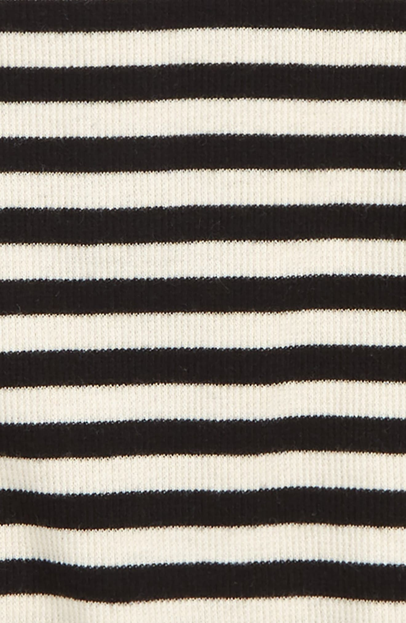 TUCKER + TATE, Stripe Ribbed Tunic, Alternate thumbnail 2, color, 002