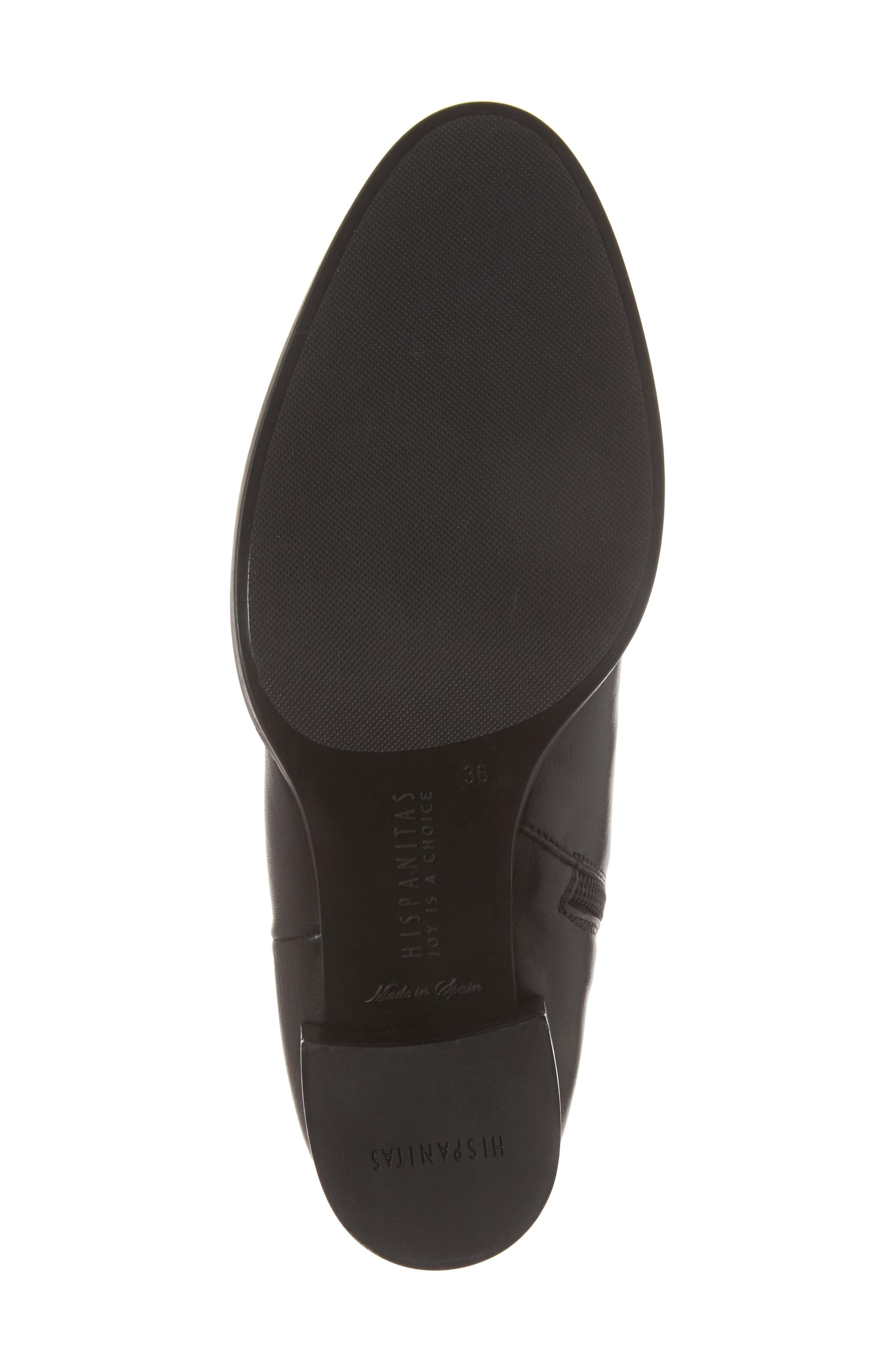 HISPANITAS, Dawn Bootie, Alternate thumbnail 6, color, SOHO BLACK LEATHER