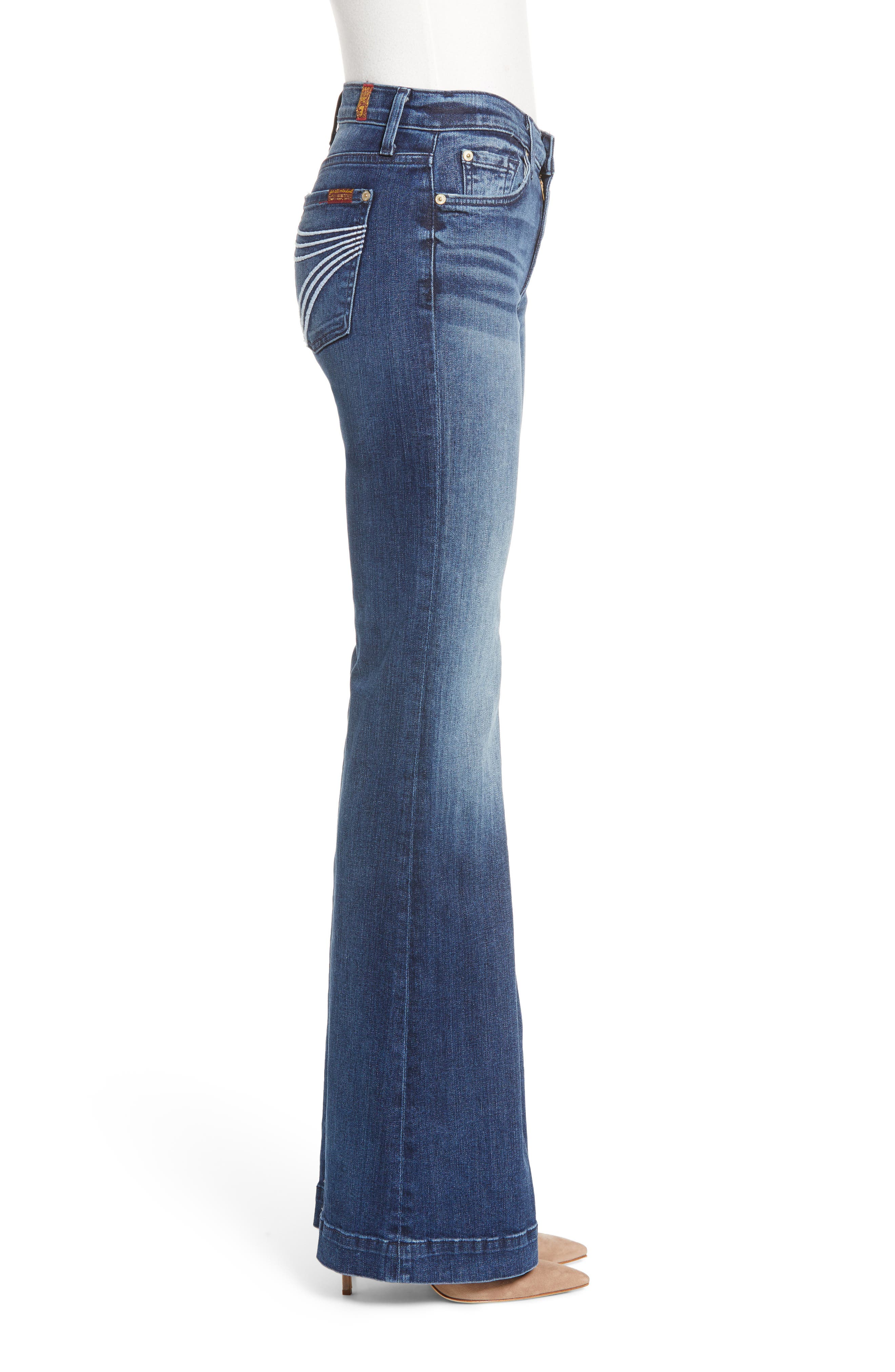 7 FOR ALL MANKIND<SUP>®</SUP>, b(air) Dojo Trouser Jeans, Alternate thumbnail 5, color, 472
