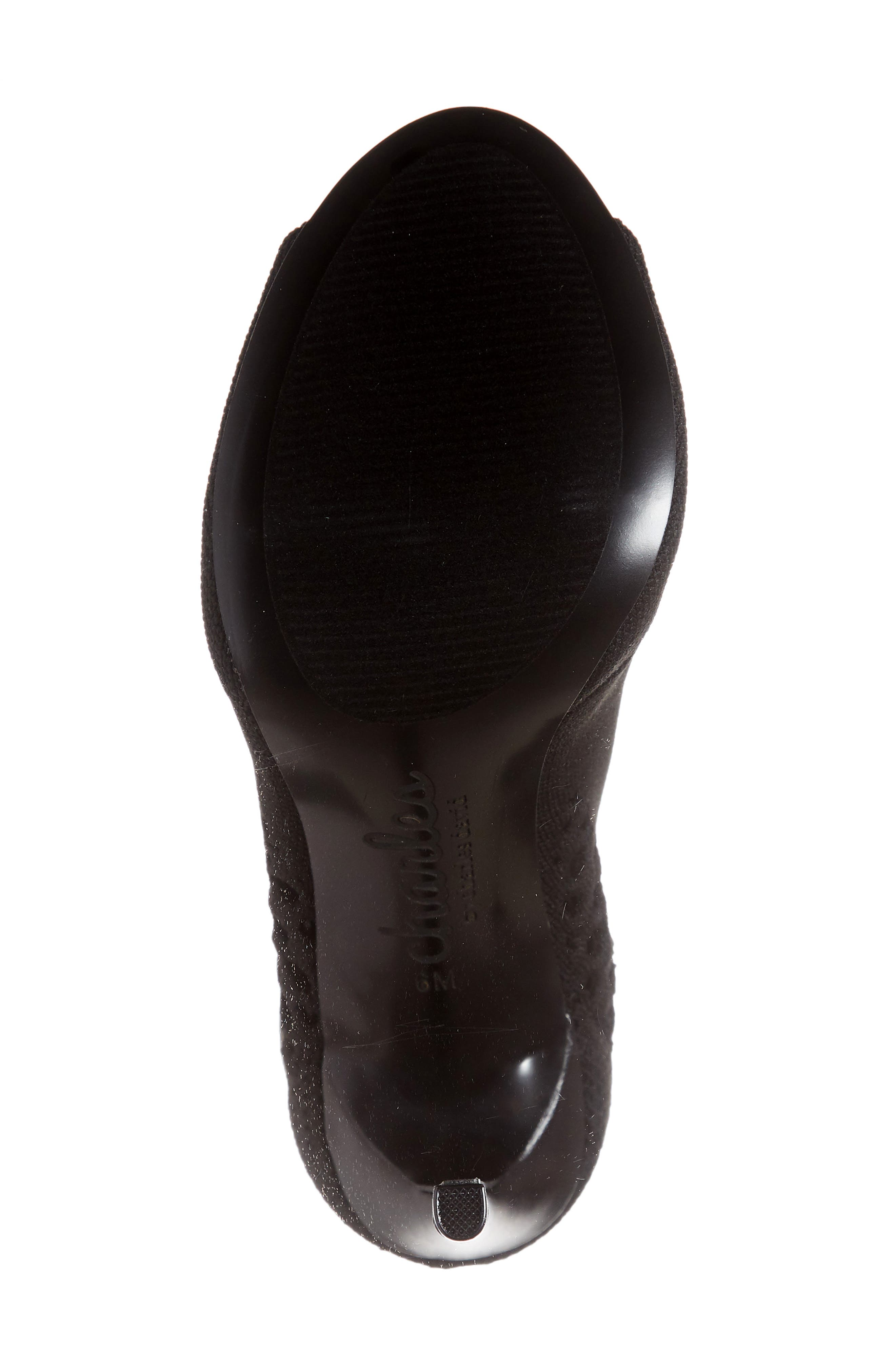 CHARLES BY CHARLES DAVID, Inspector Bootie, Alternate thumbnail 6, color, BLACK FABRIC