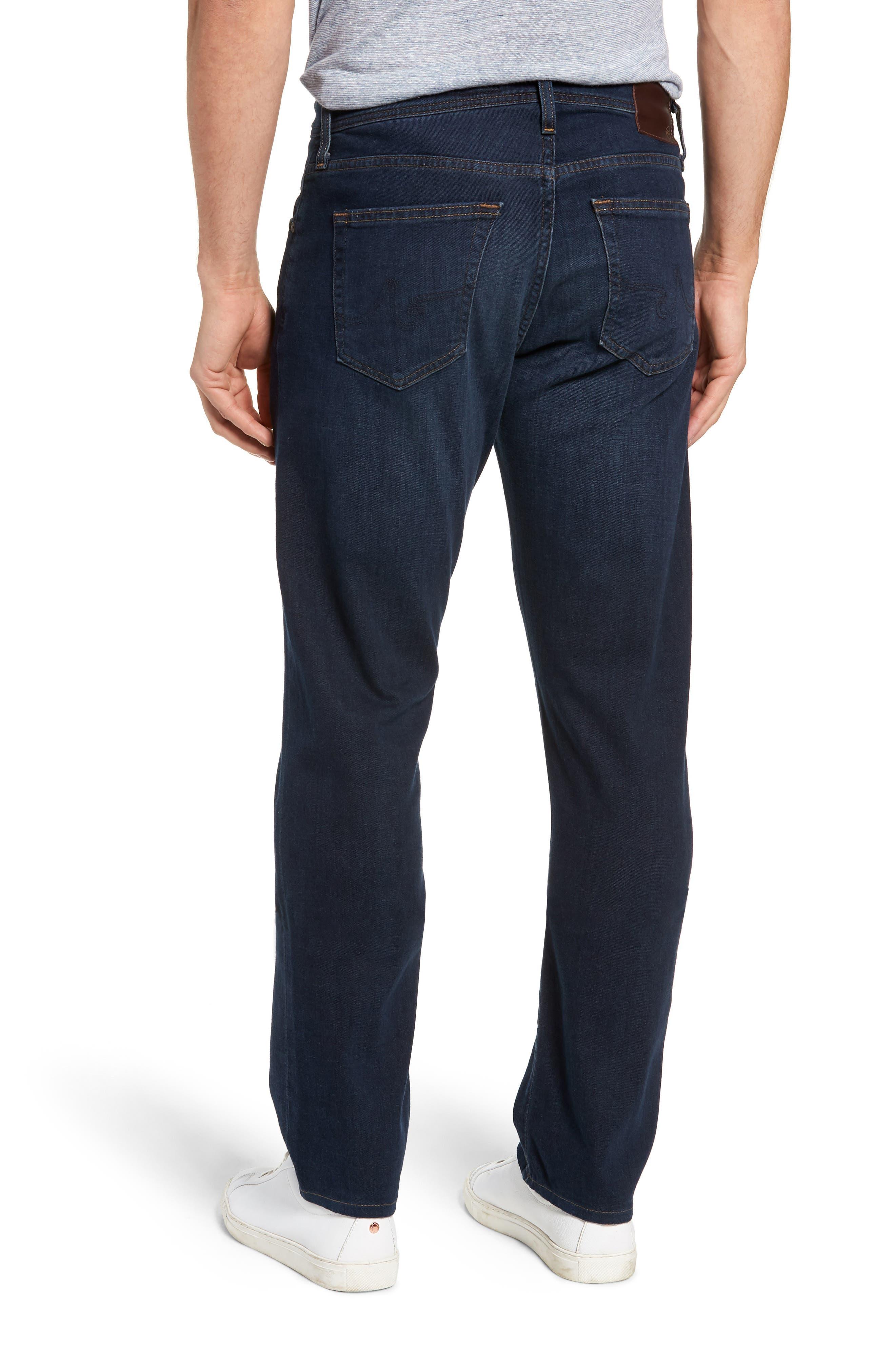 AG, Ives Straight Leg Jeans, Alternate thumbnail 2, color, COVET