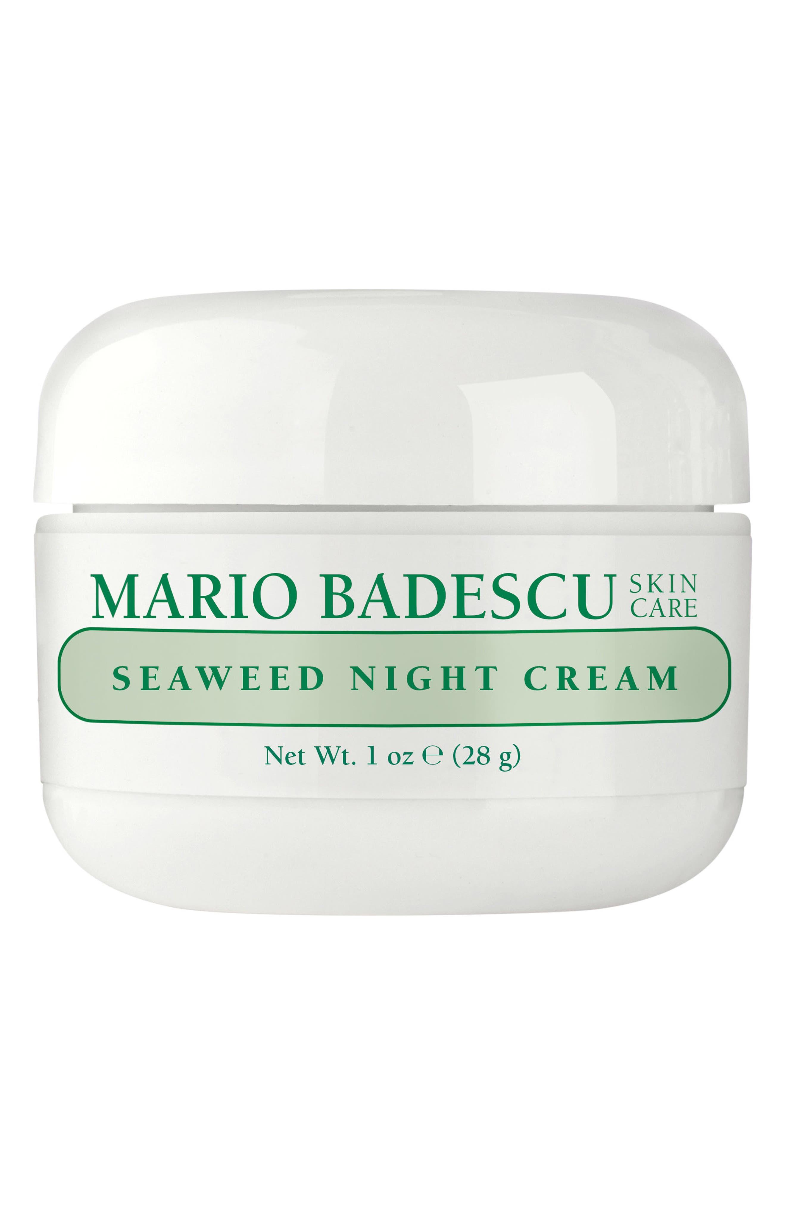 MARIO BADESCU Seaweed Night Cream, Main, color, NO COLOR