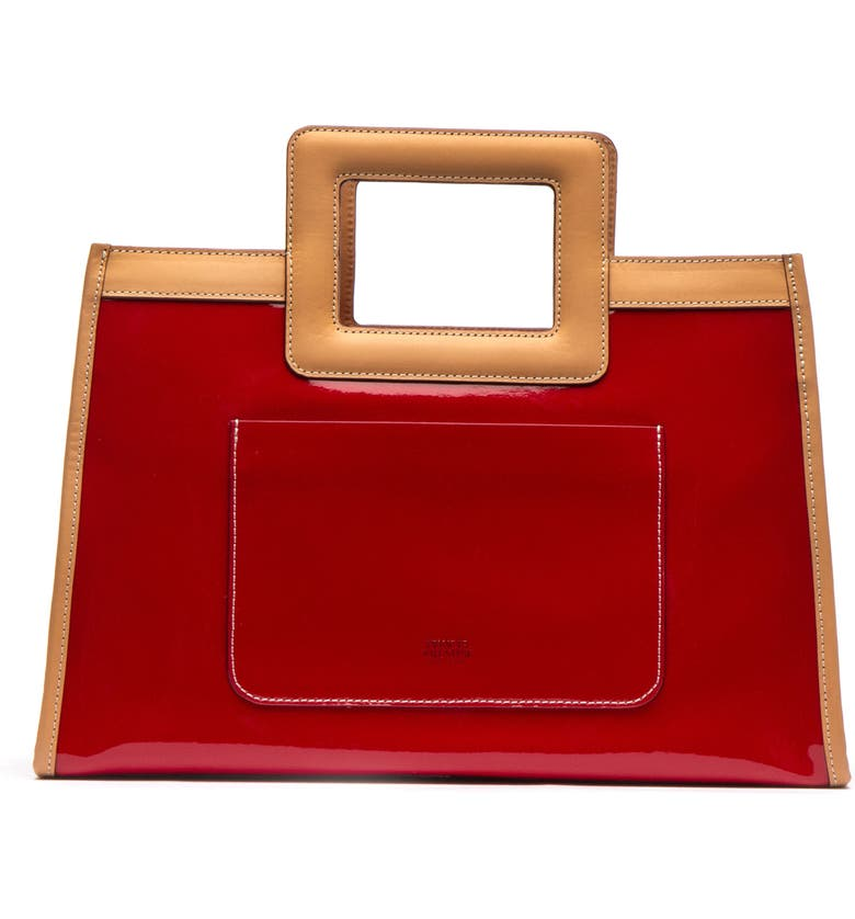 Frances Valentine Bags LEATHER SHOPPER - RED