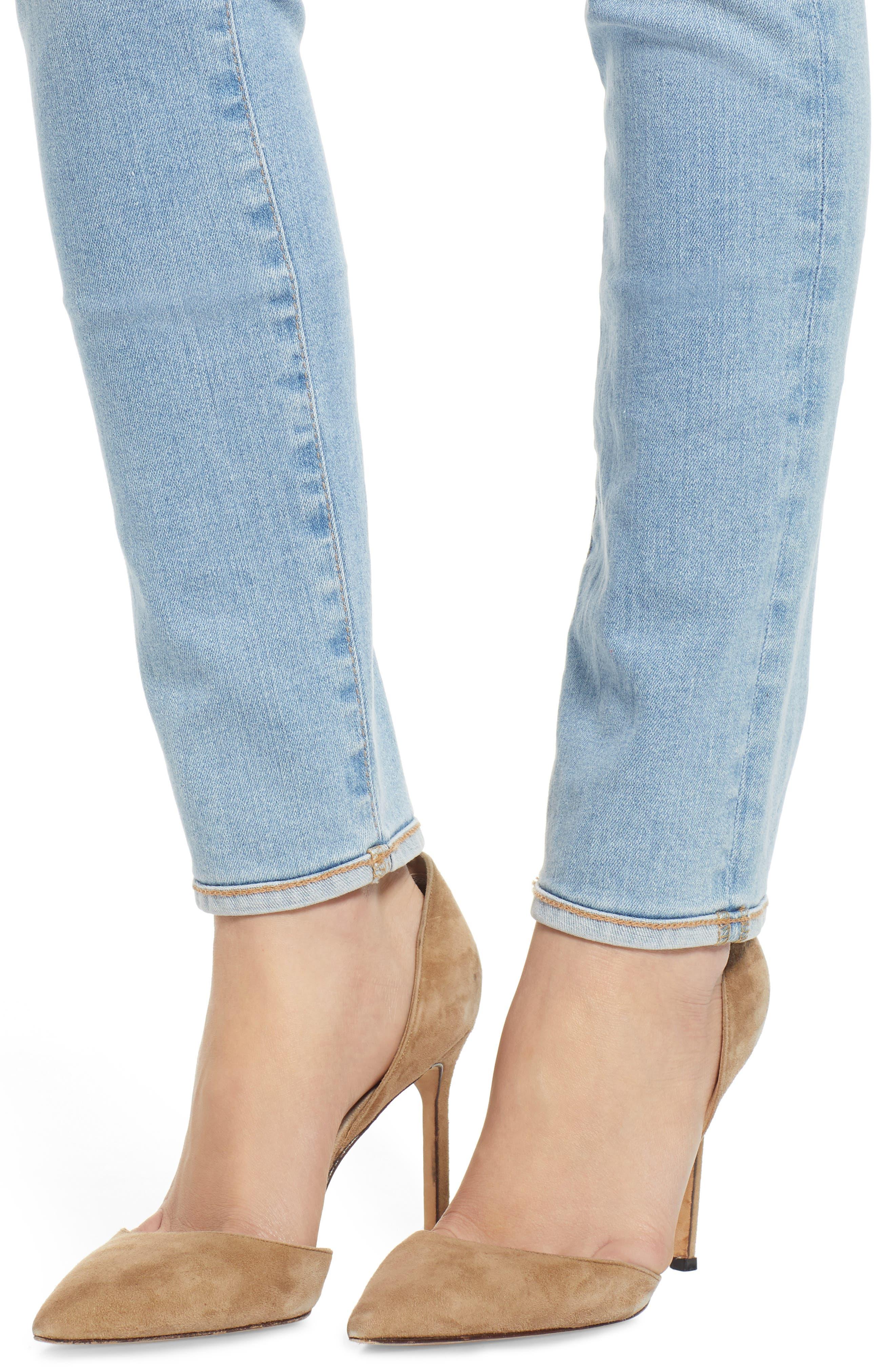 AG, Prima Ankle Cigarette Jeans, Alternate thumbnail 5, color, 27Y AVERSIONS