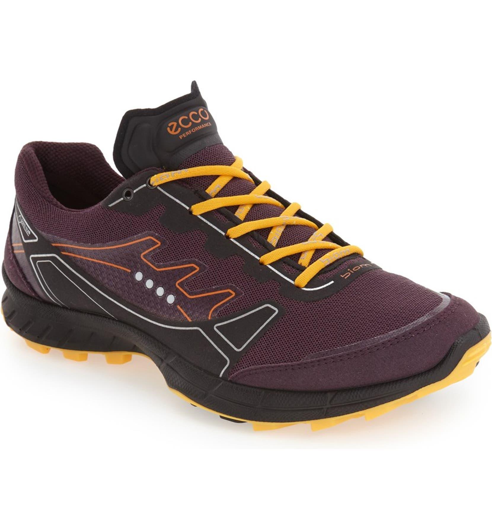 609a1b84535c3e ECCO  Biom Trail FL GTX  Waterproof Trail Running Shoe (Women ...