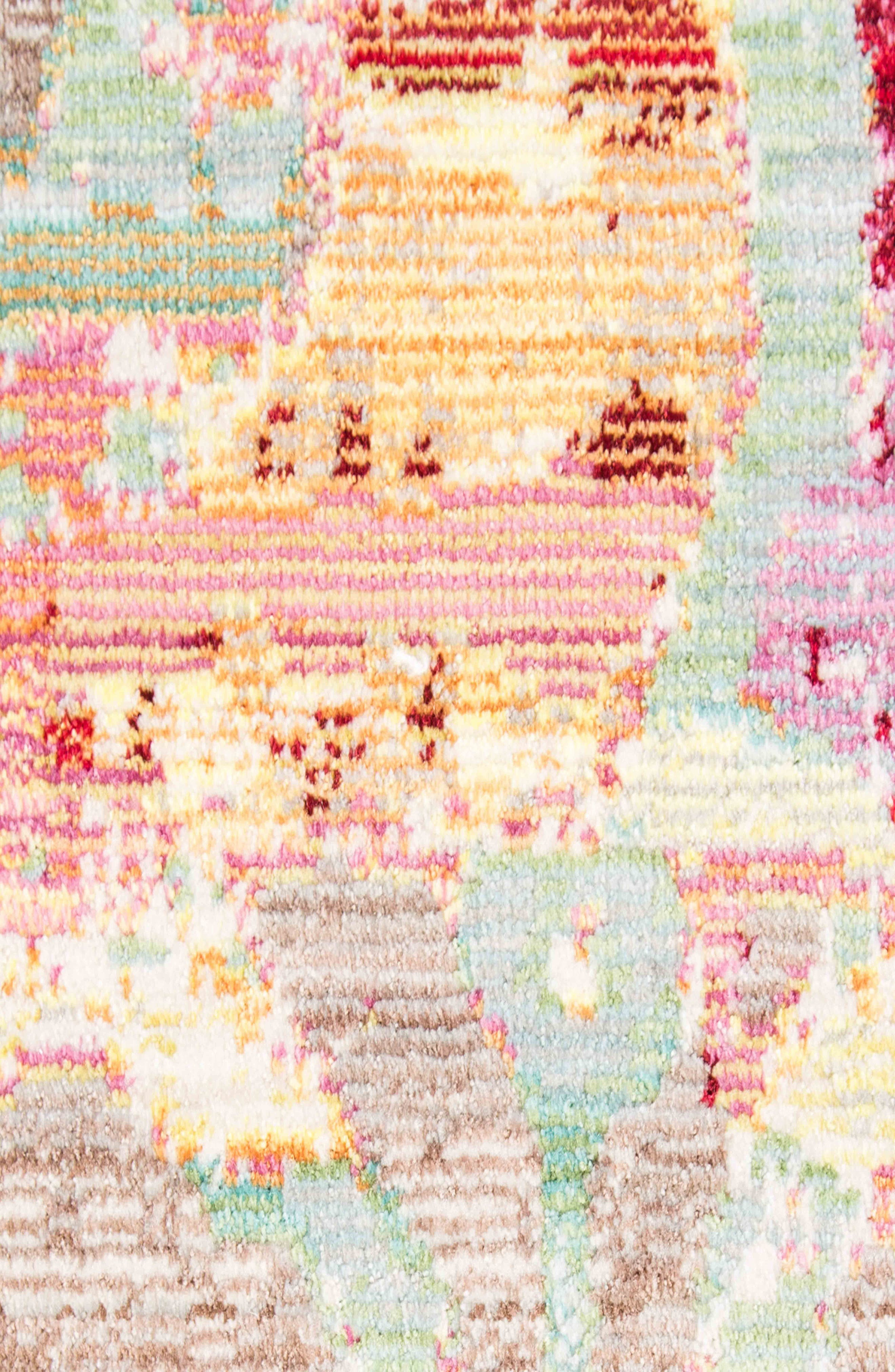 JAIPUR, Ceres Rug, Alternate thumbnail 4, color, BEIGE FUSCIA