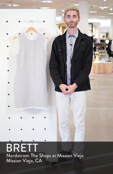 Fringe Trim Stripe Shift Dress, sales video thumbnail