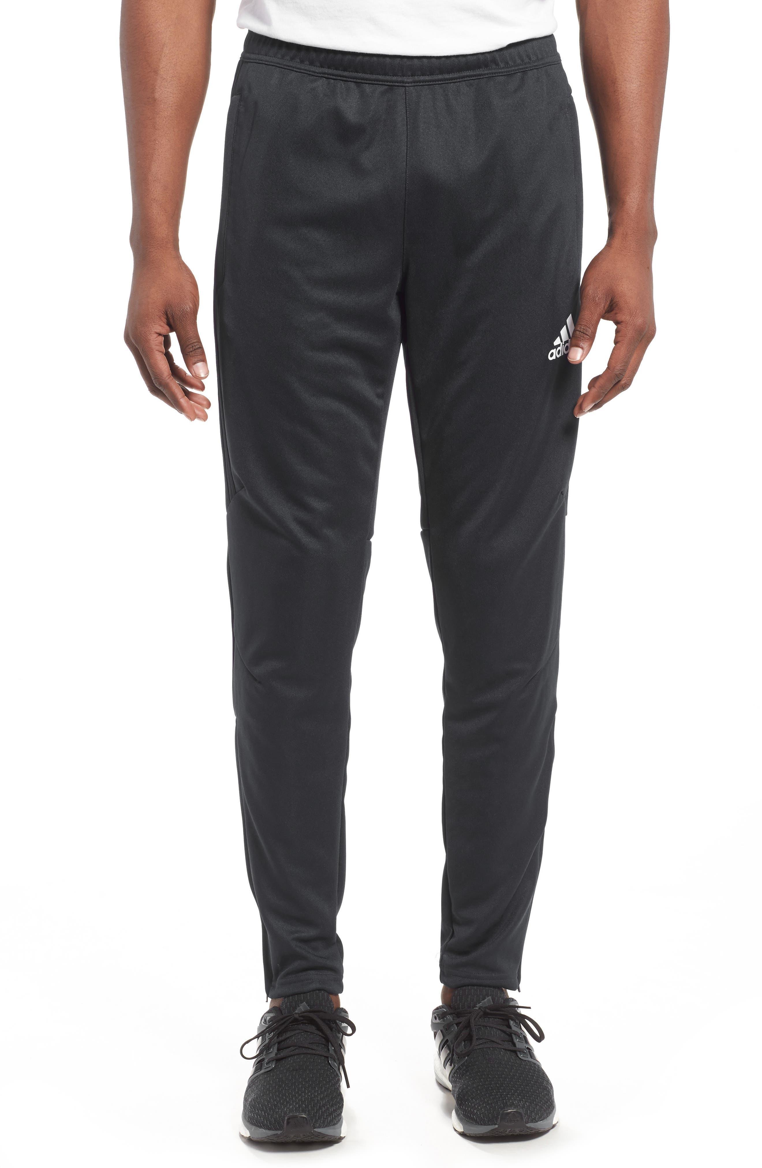 ADIDAS, Tiro 17 Training Pants, Main thumbnail 1, color, BLACK/ WHITE/ WHITE