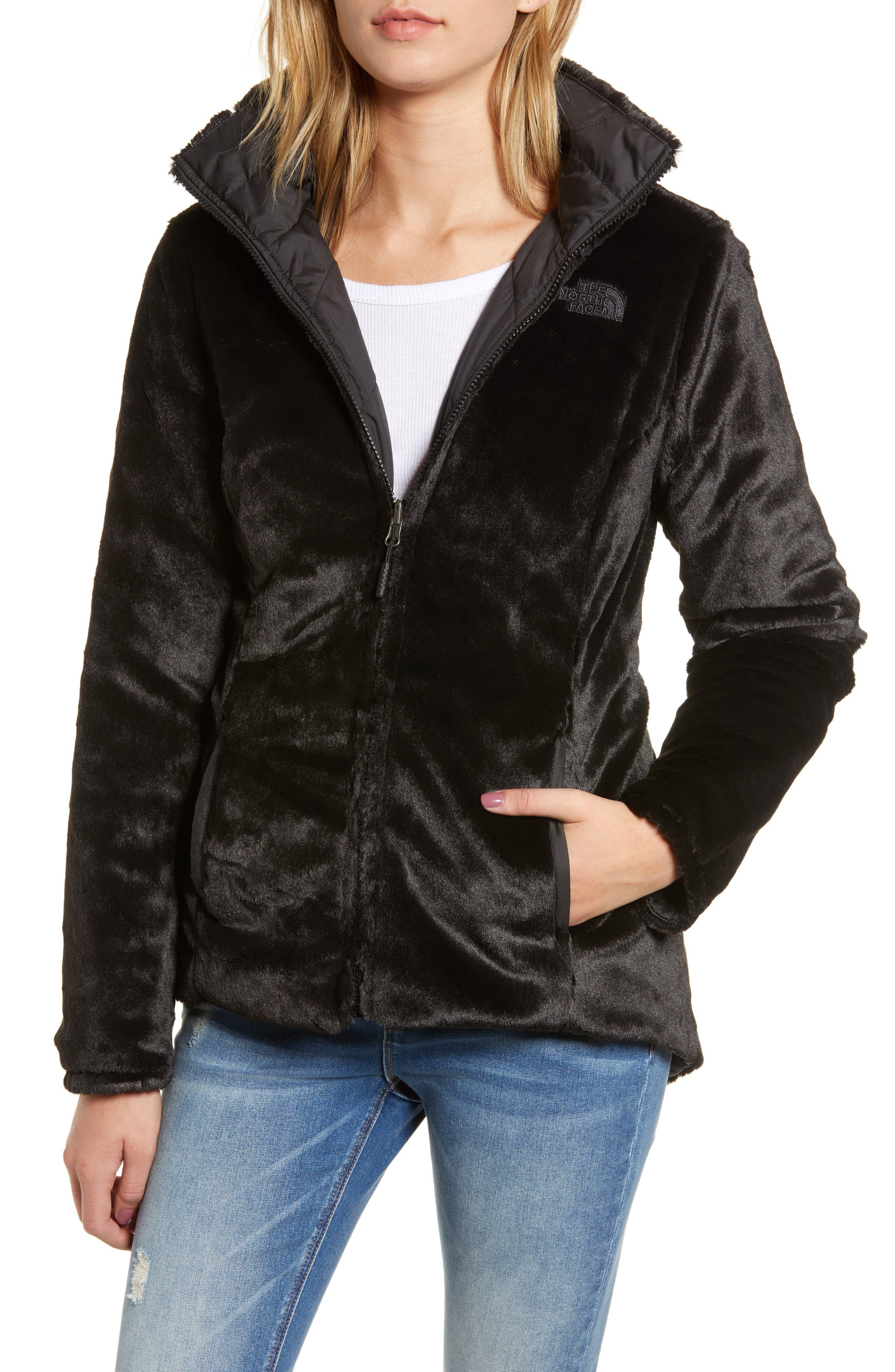 THE NORTH FACE, Mossbud Reversible Heatseeker<sup>™</sup> Wind Resistant Jacket, Alternate thumbnail 5, color, TNF BLACK