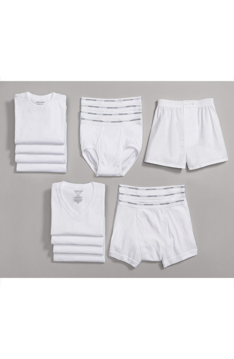 097a205dbe6 Nordstrom Men's Shop 4-Pack Regular Fit Supima® Cotton V-Neck T ...