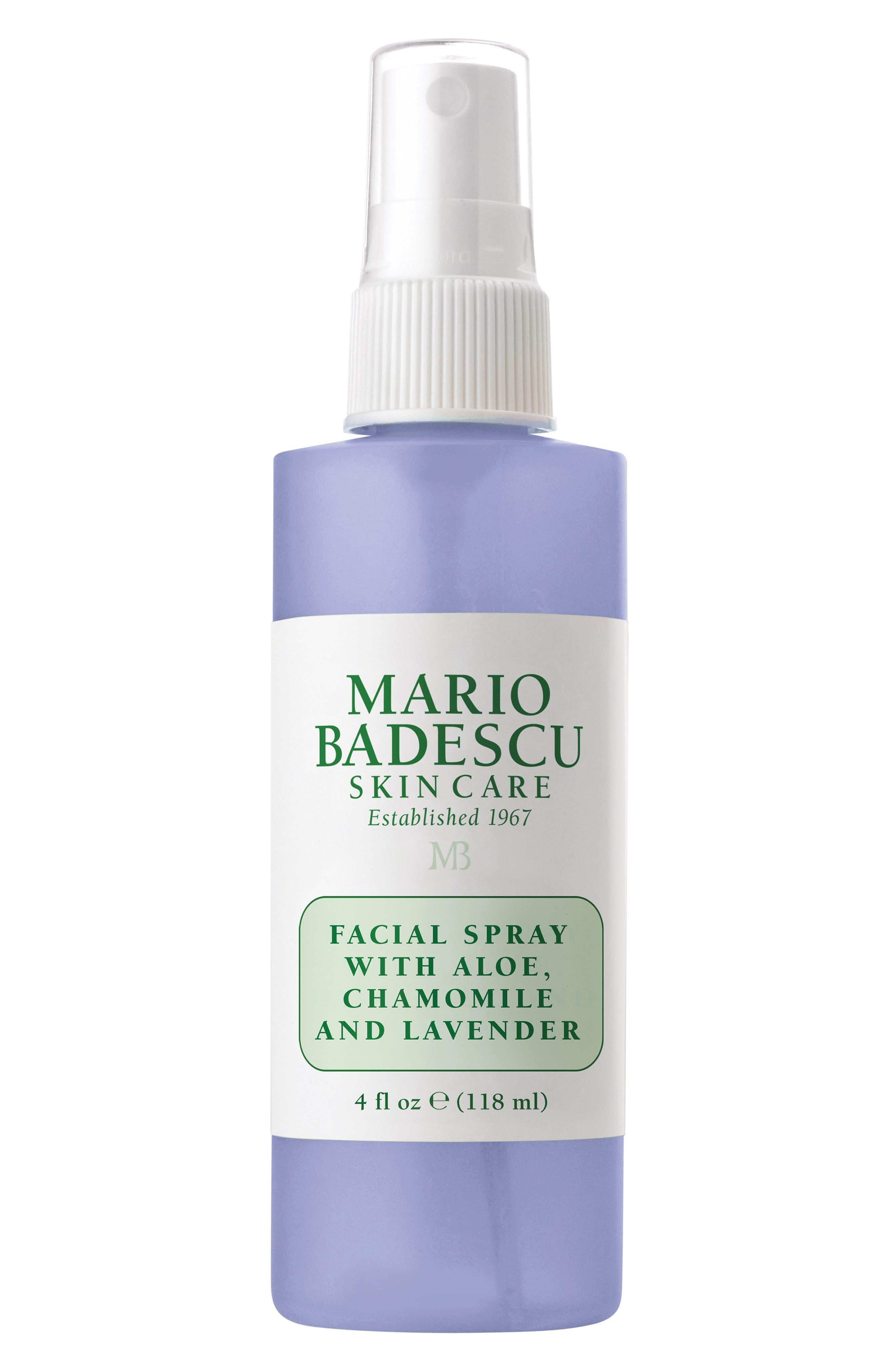 MARIO BADESCU, Facial Spray with Aloe, Chamomile & Lavender, Alternate thumbnail 3, color, NO COLOR