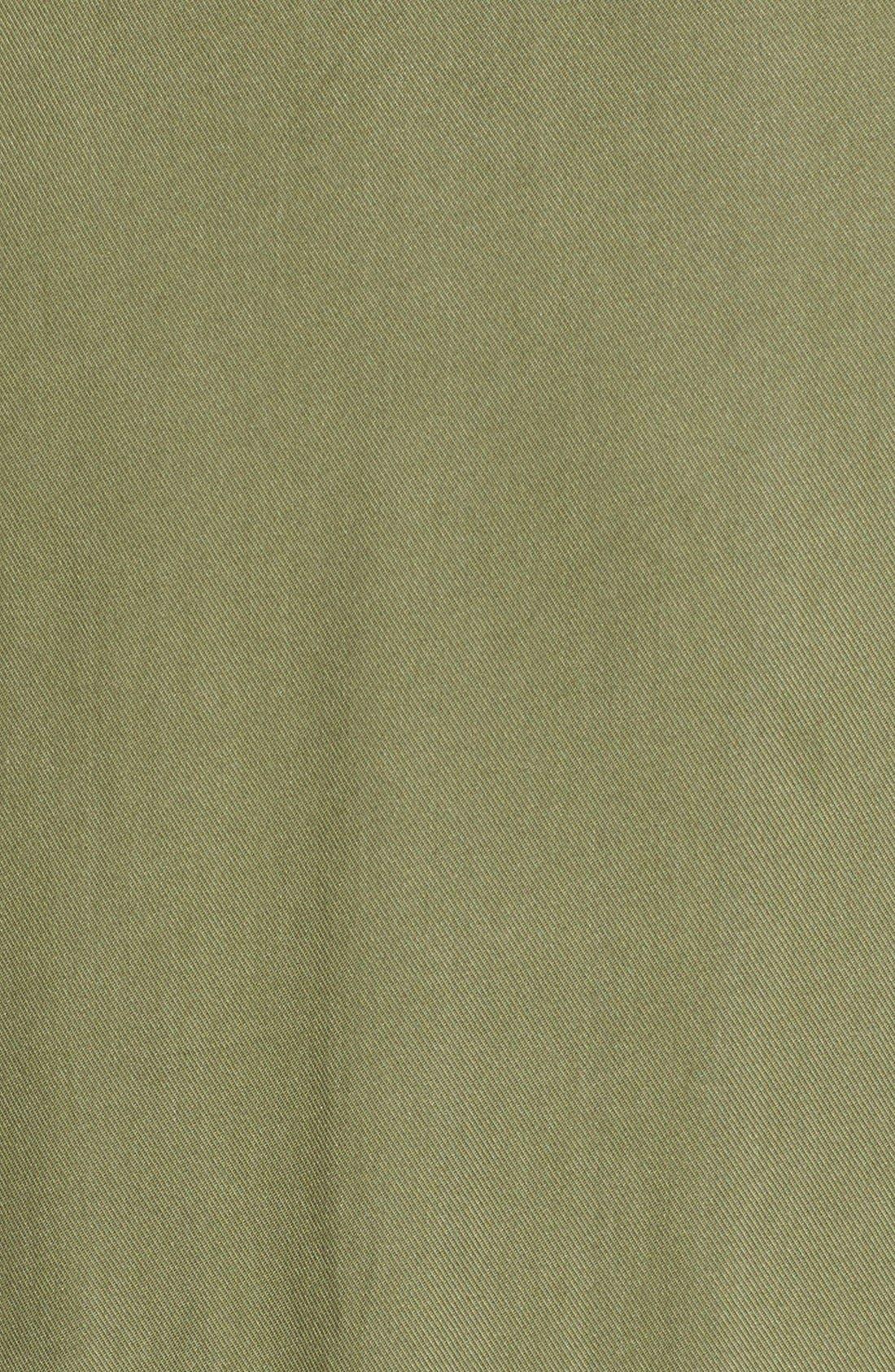 BP., Sleeveless Woven Shirtdress, Alternate thumbnail 4, color, 311