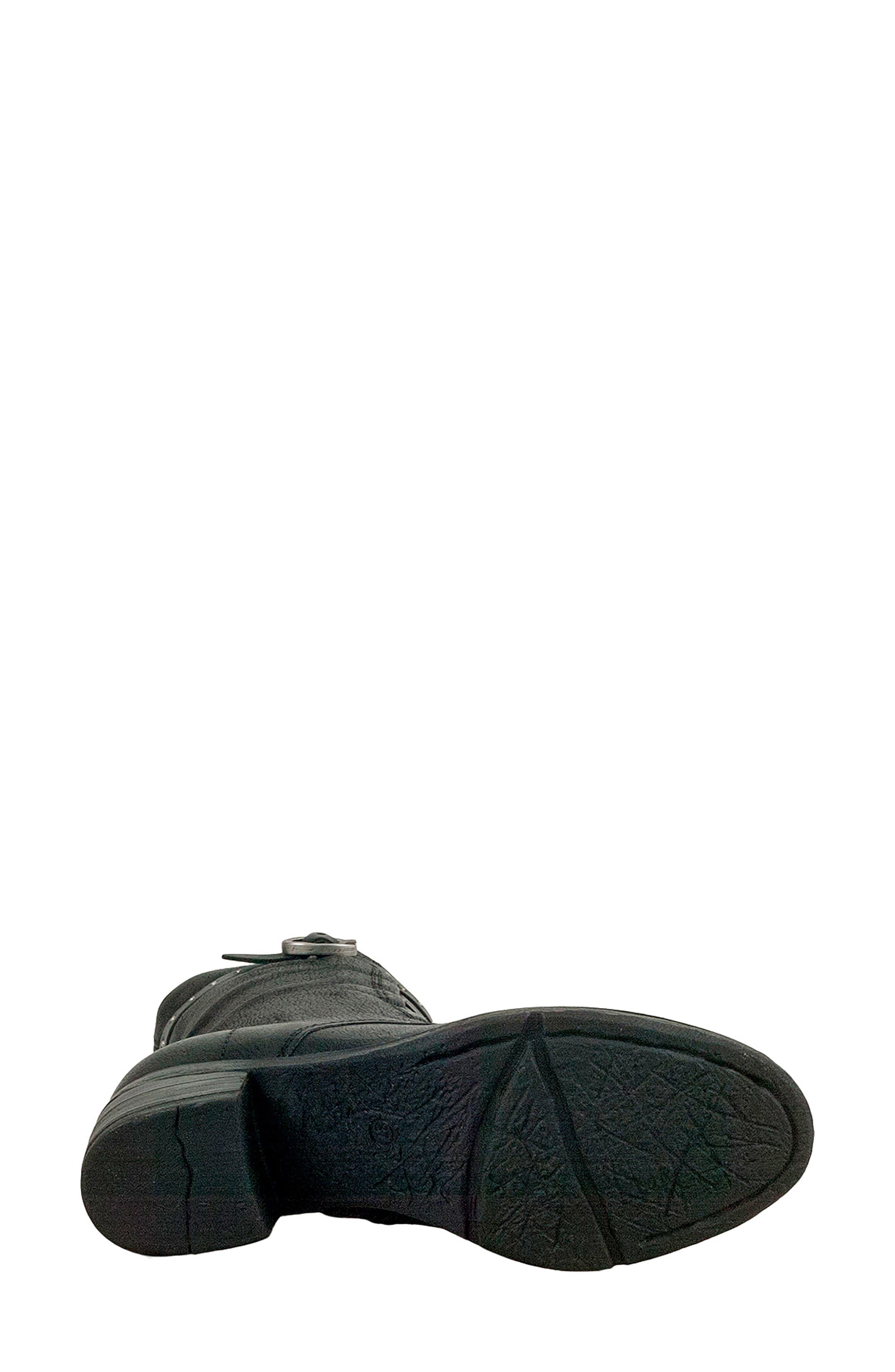 MIZ MOOZ, Suki Combat Boot, Alternate thumbnail 5, color, 001