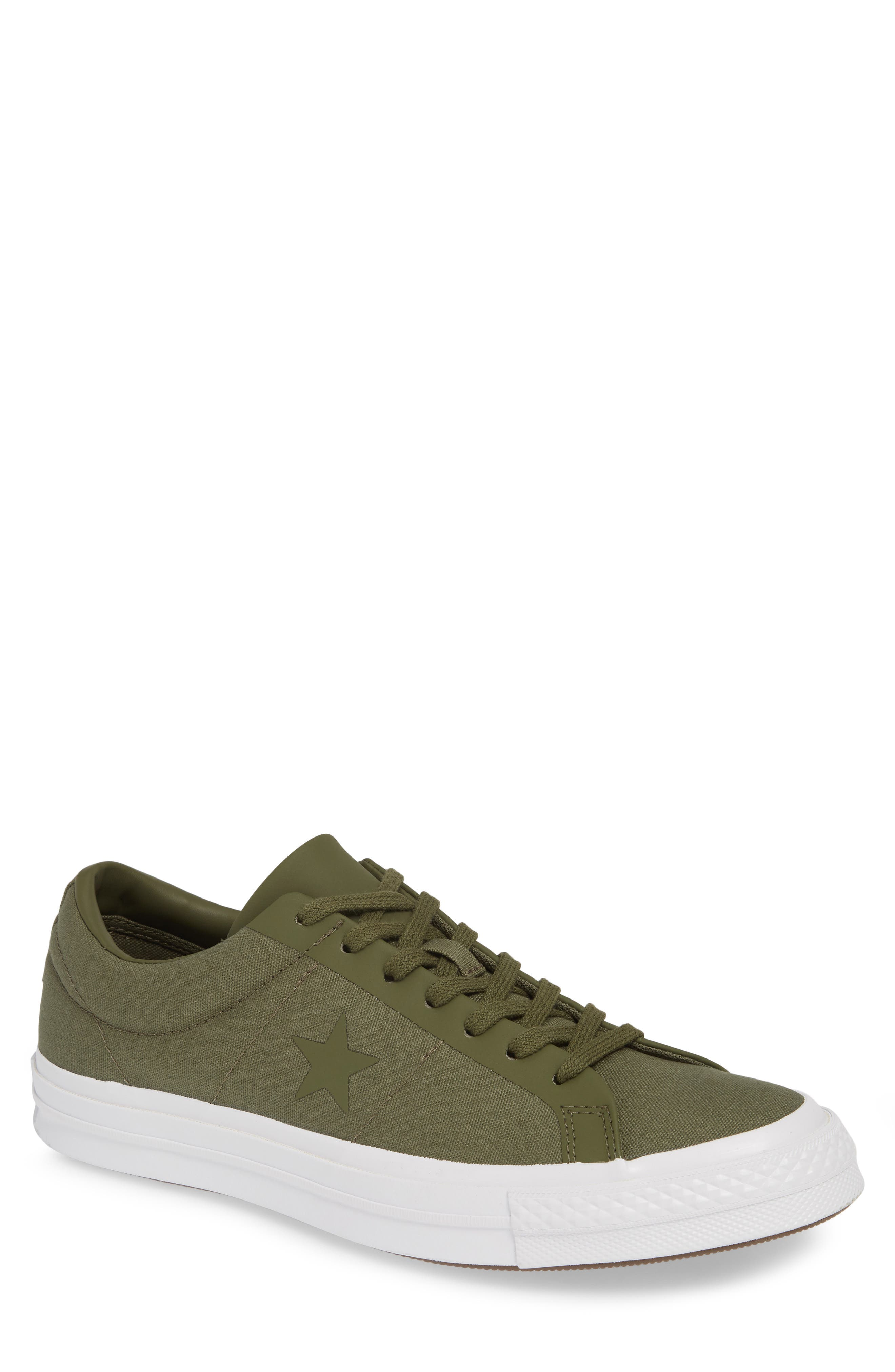 Converse One Star Sneaker, Green