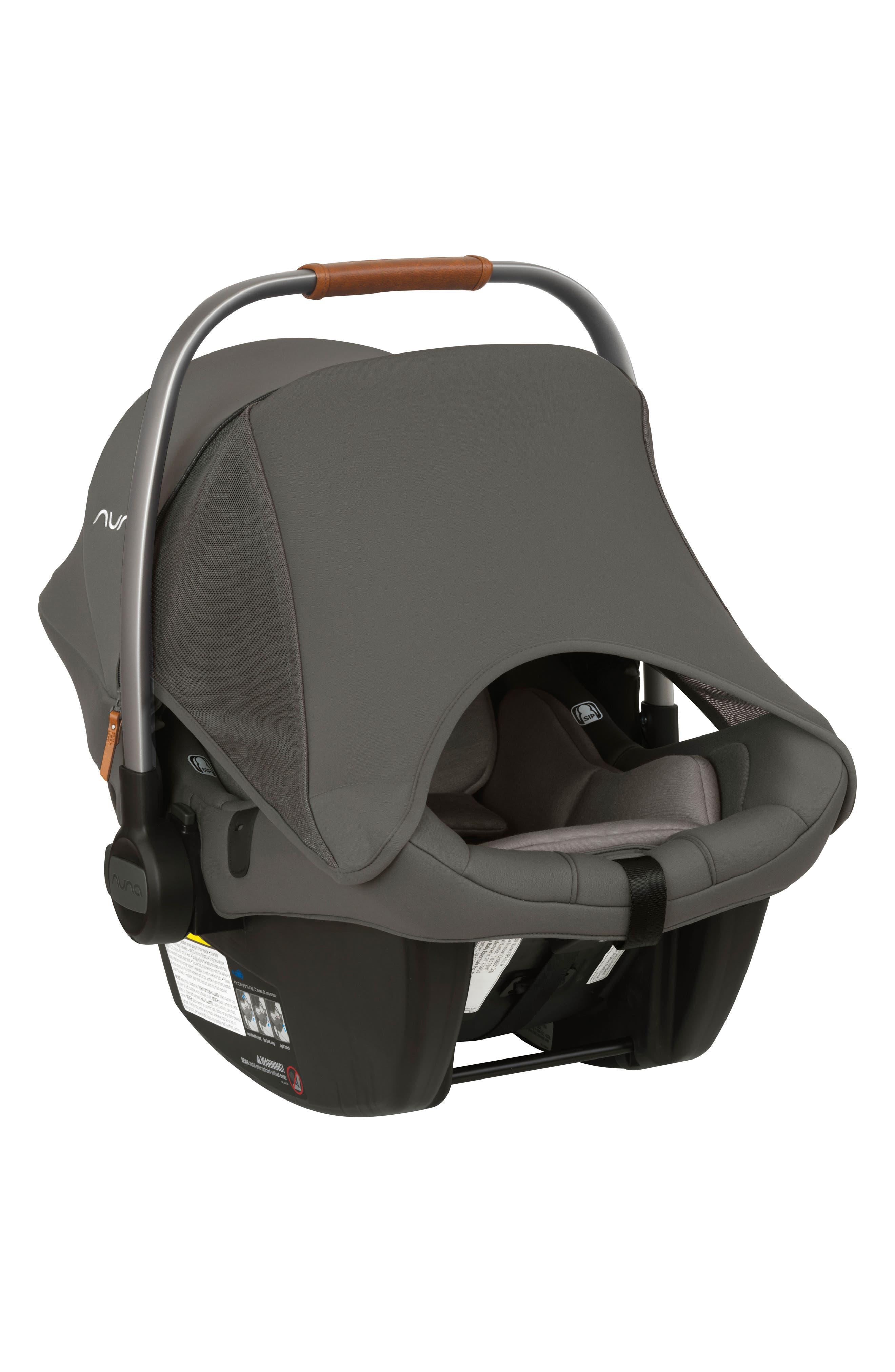 NUNA, PIPA<sup>™</sup> Lite LX Infant Car Seat & Base, Alternate thumbnail 5, color, FROST