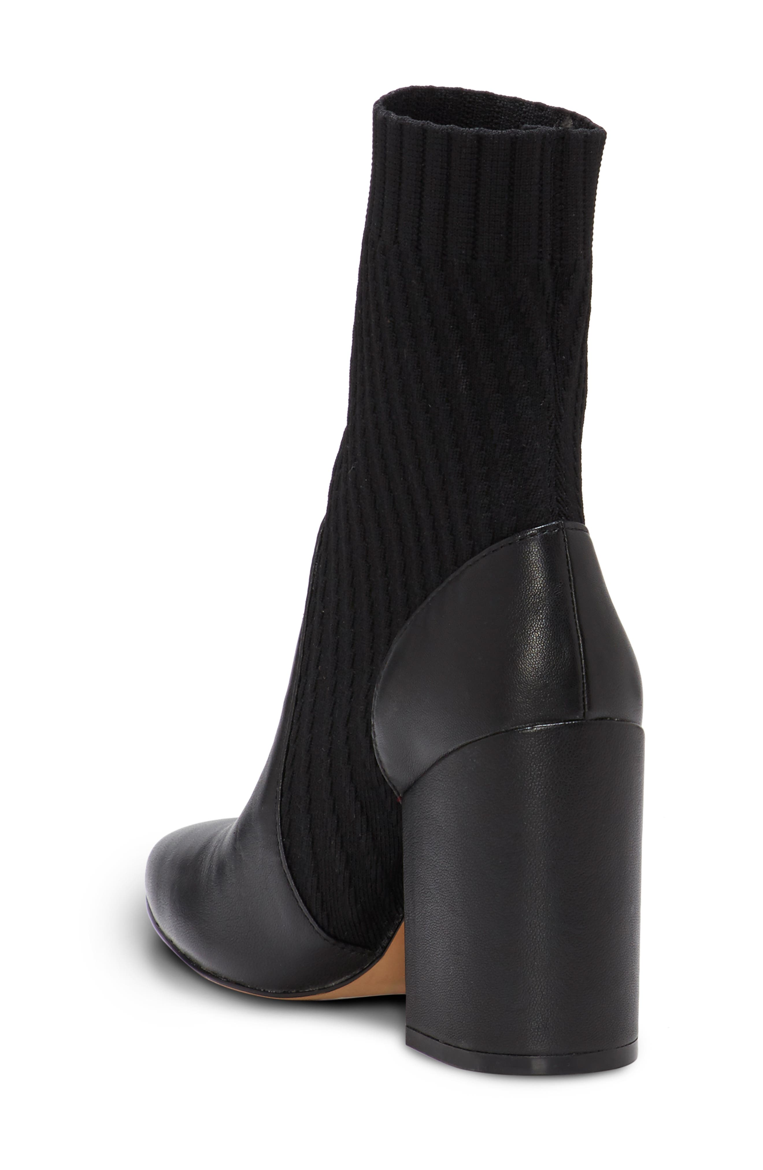 VINCE CAMUTO, Diandra Boot, Alternate thumbnail 2, color, BLACK LEATHER
