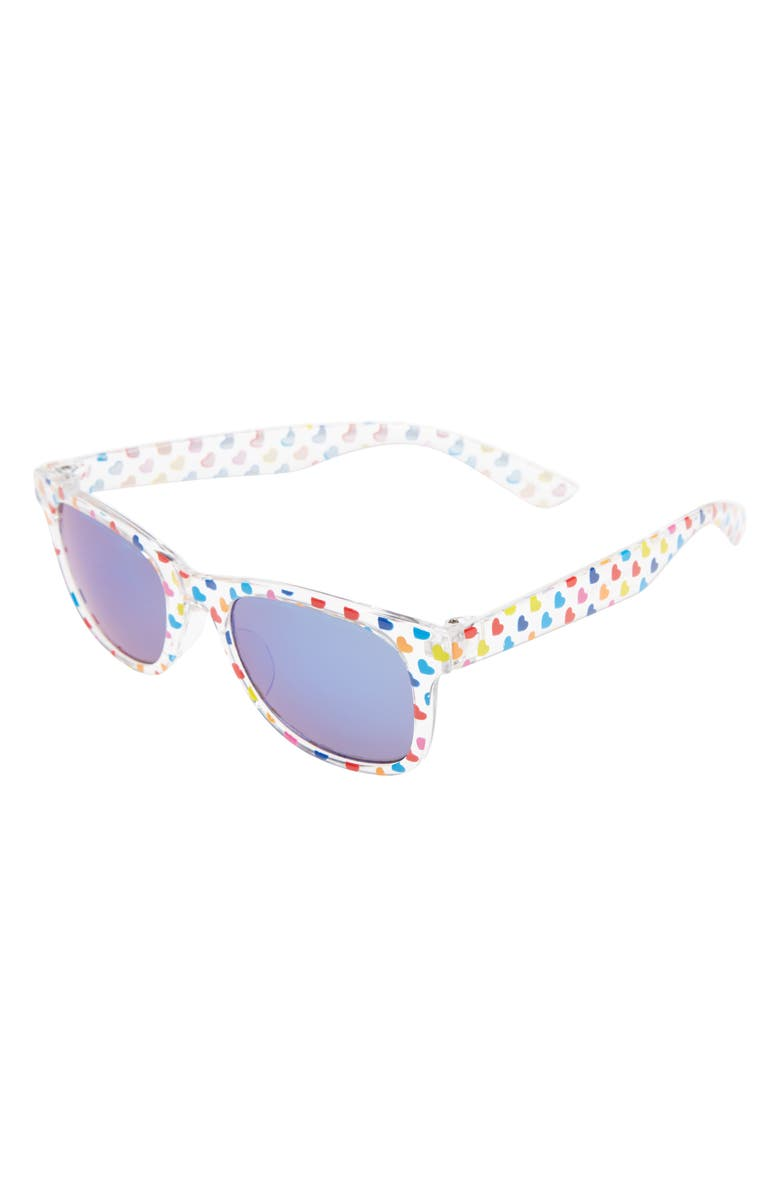 8ba313901 Icon Eyewear Rainbow Heart Sunglasses (Girls) | Nordstrom
