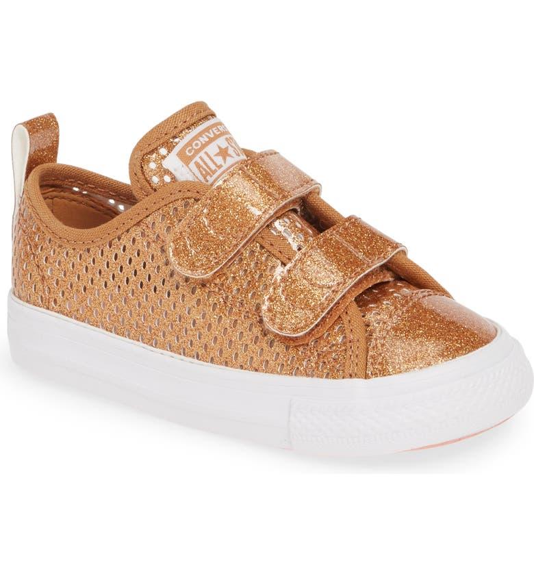 62fb4c8296b4 Converse Chuck Taylor® All Star® 2V Glitter Mesh Sneaker (Baby ...