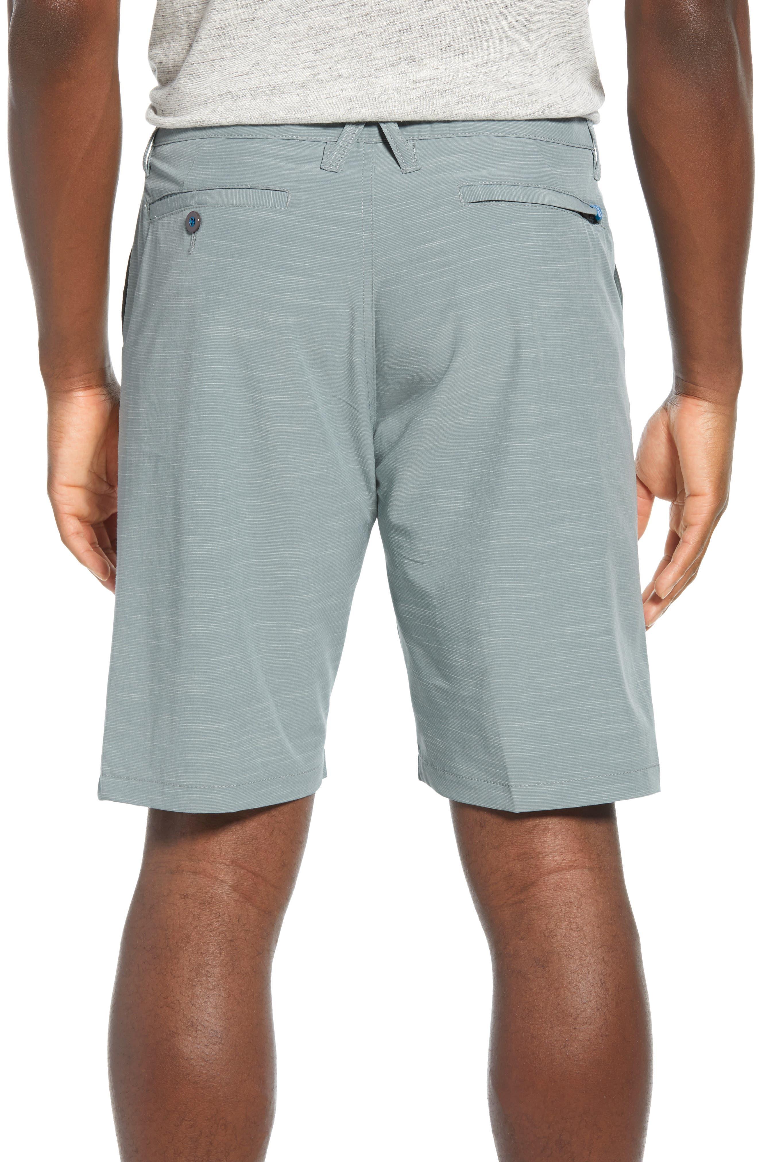 DEVEREUX, Cruiser Hybrid Shorts, Alternate thumbnail 2, color, SMOKE GREEN