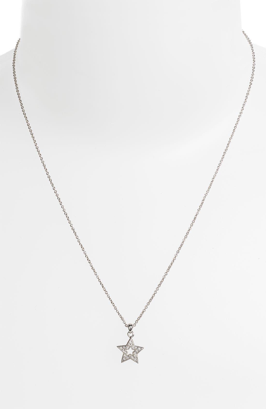 NADRI Small Star Pendant Boxed Necklace, Main, color, 040