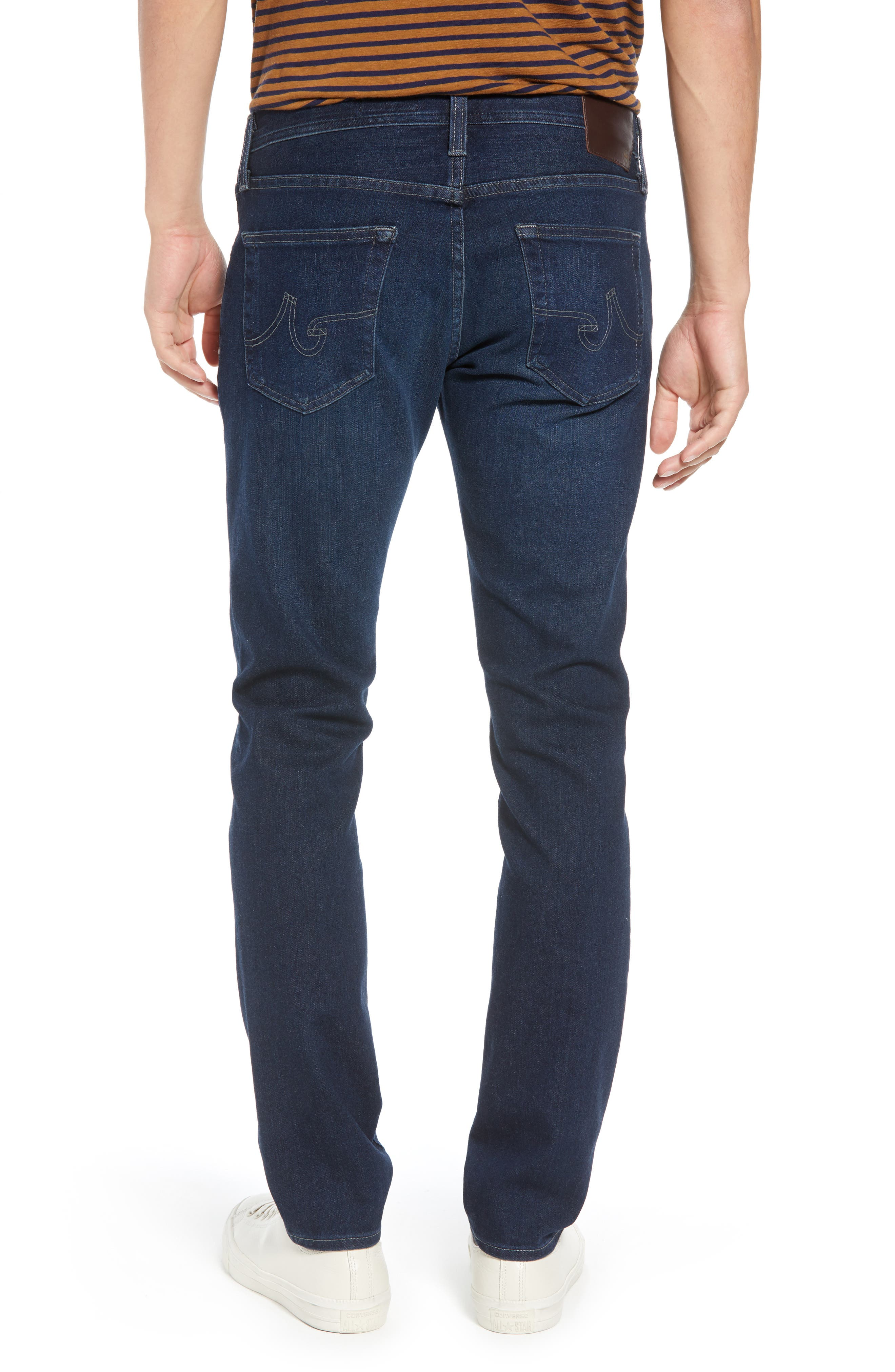AG, Dylan Skinny Fit Jeans, Alternate thumbnail 2, color, BURROUGHS