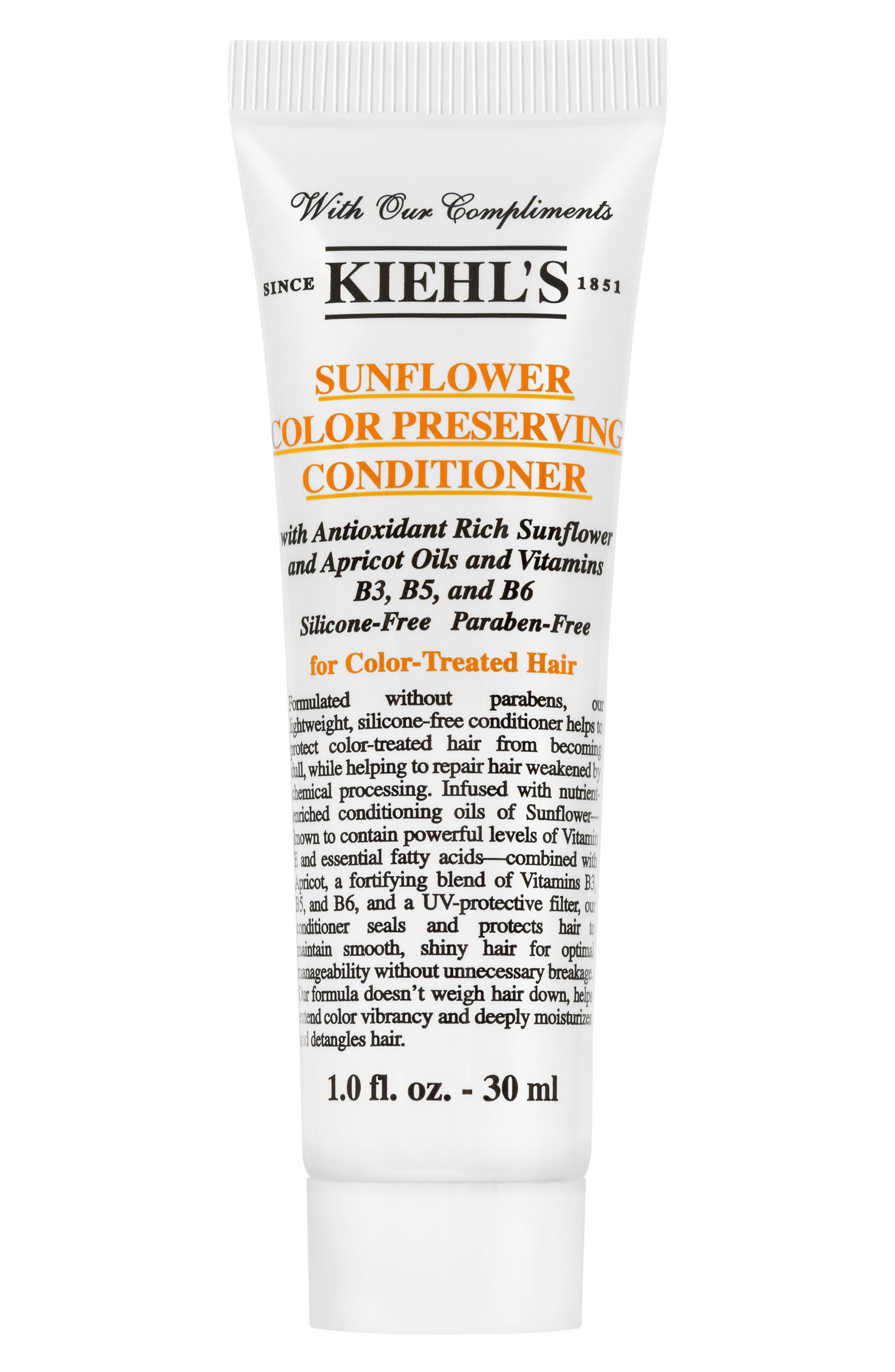 KIEHL'S SINCE 1851, Sunflower Color Preserving Conditioner, Alternate thumbnail 5, color, NO COLOR