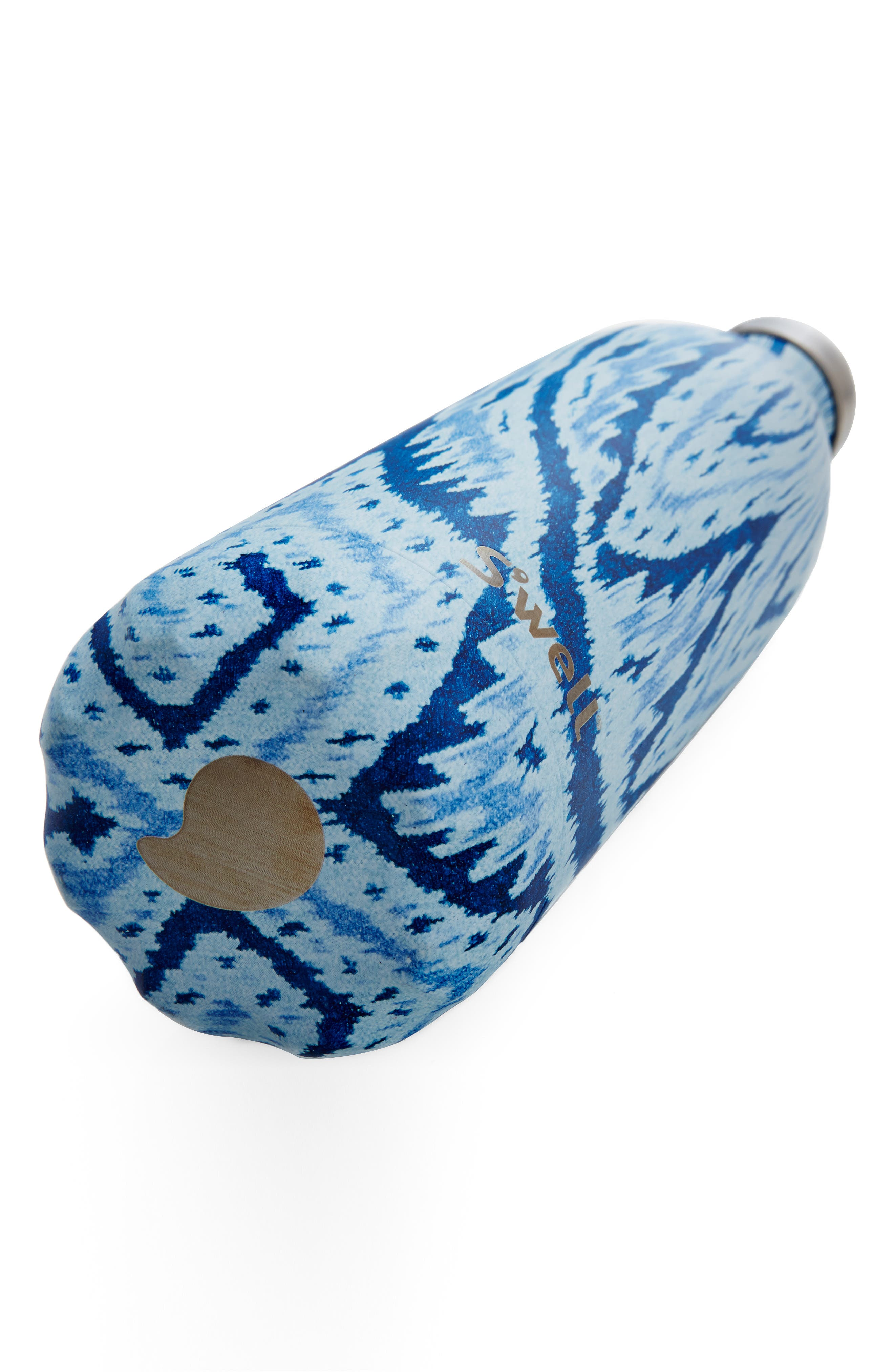 S'WELL, 'Hand Painted Textile Collection' Water Bottle, Alternate thumbnail 4, color, 400