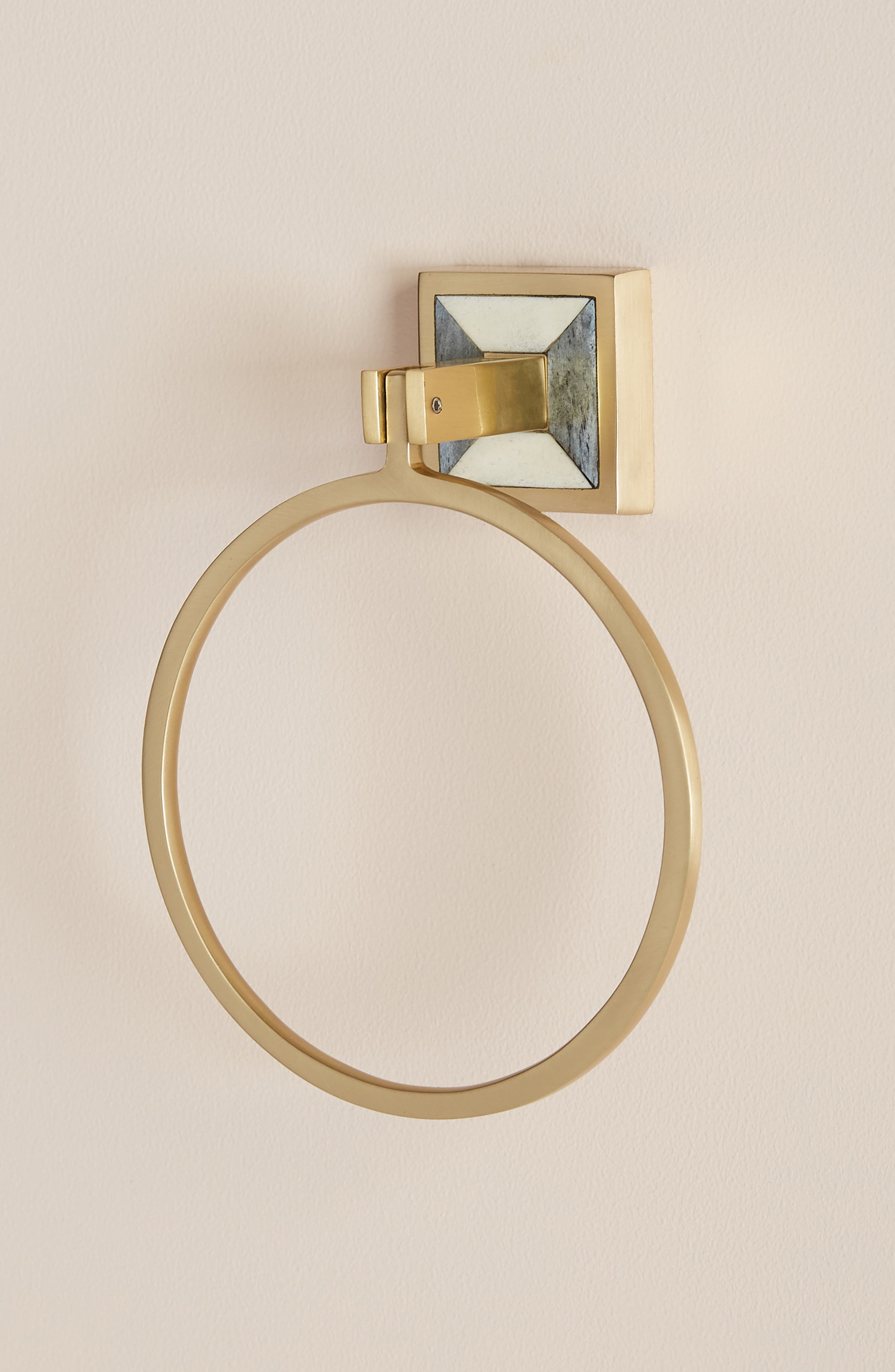 ANTHROPOLOGIE, Cayenne Towel Ring, Alternate thumbnail 2, color, 442