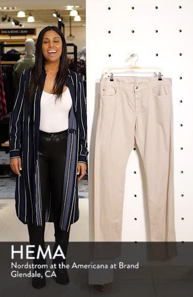 Stretch Cotton Five Pocket Trousers, sales video thumbnail