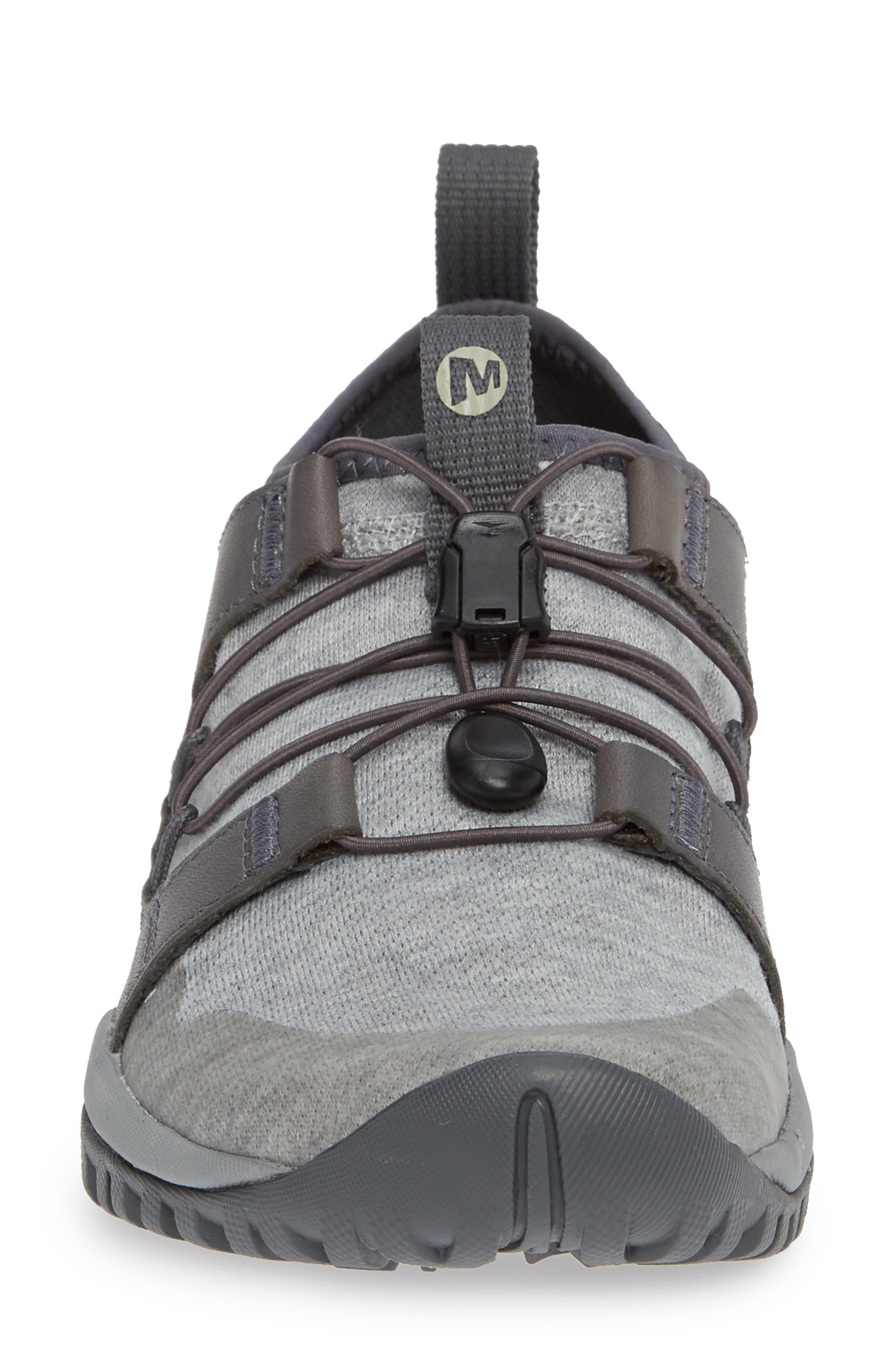 MERRELL, Siren Guided Knit Q2 Sneaker, Alternate thumbnail 4, color, 050