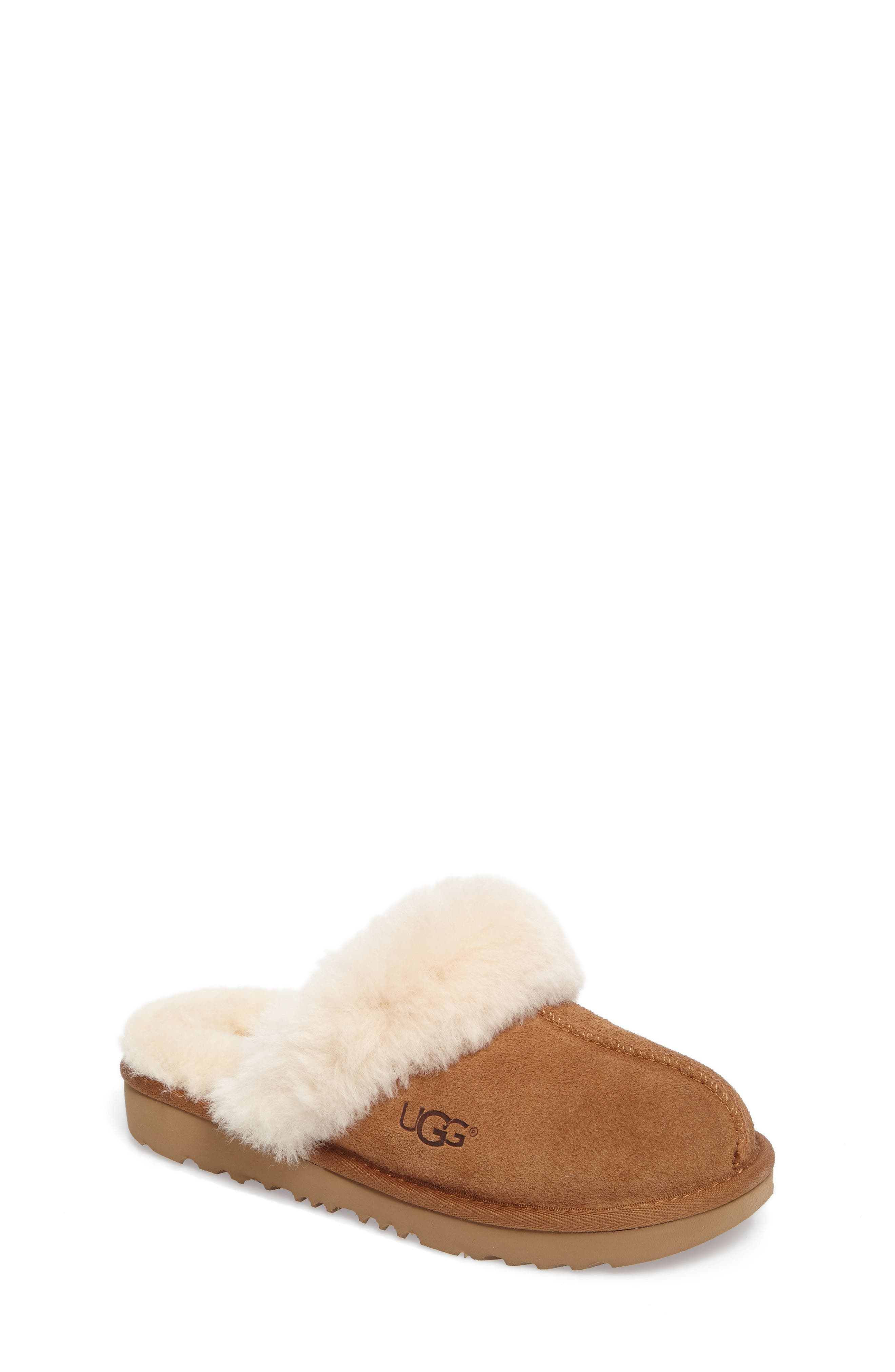 UGG<SUP>®</SUP>, Cozy II Scuff Slipper, Main thumbnail 1, color, CHESTNUT