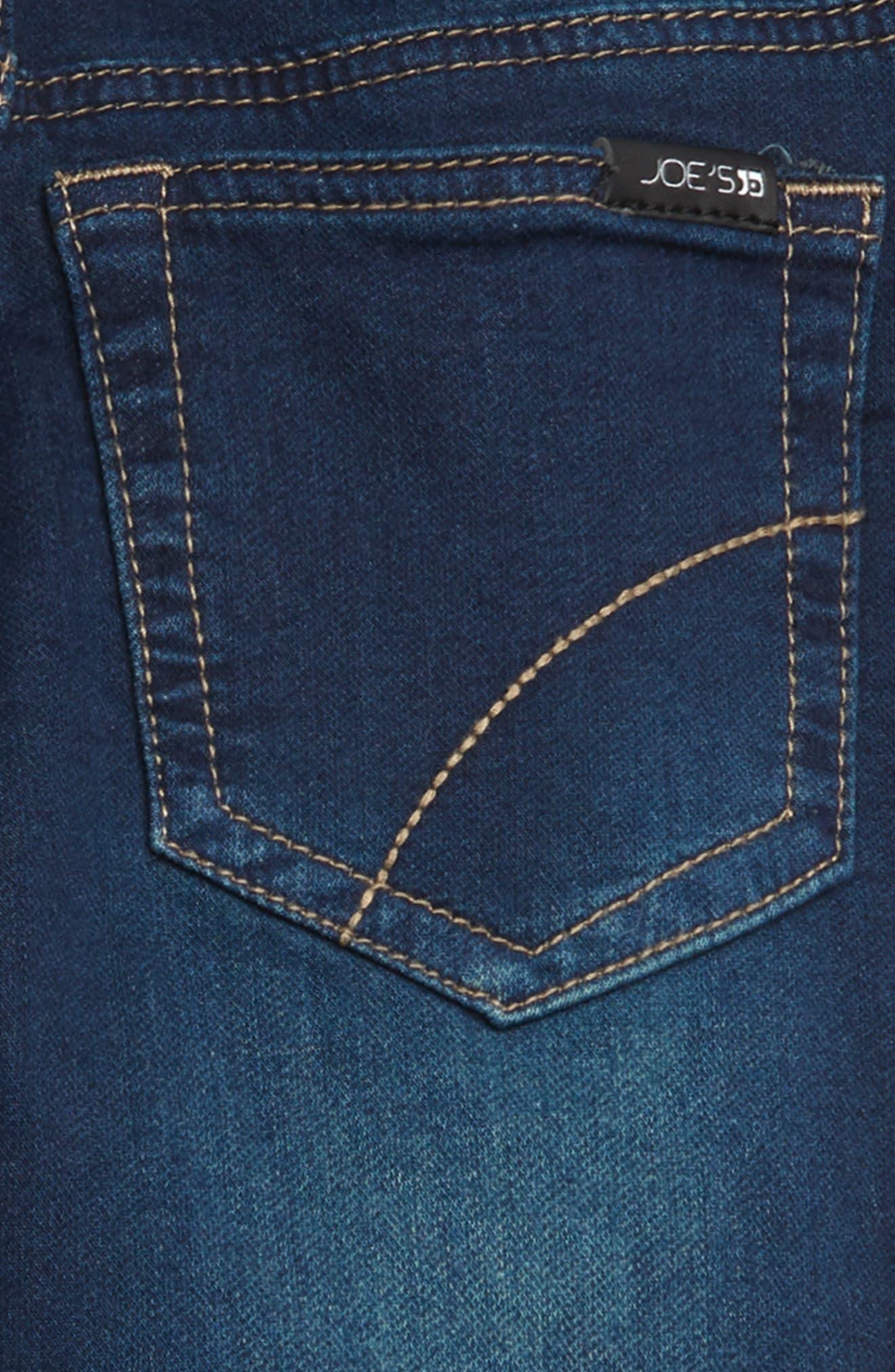 JOE'S, The Jogger Slim Fit Knit Pants, Alternate thumbnail 3, color, MARINE WASH