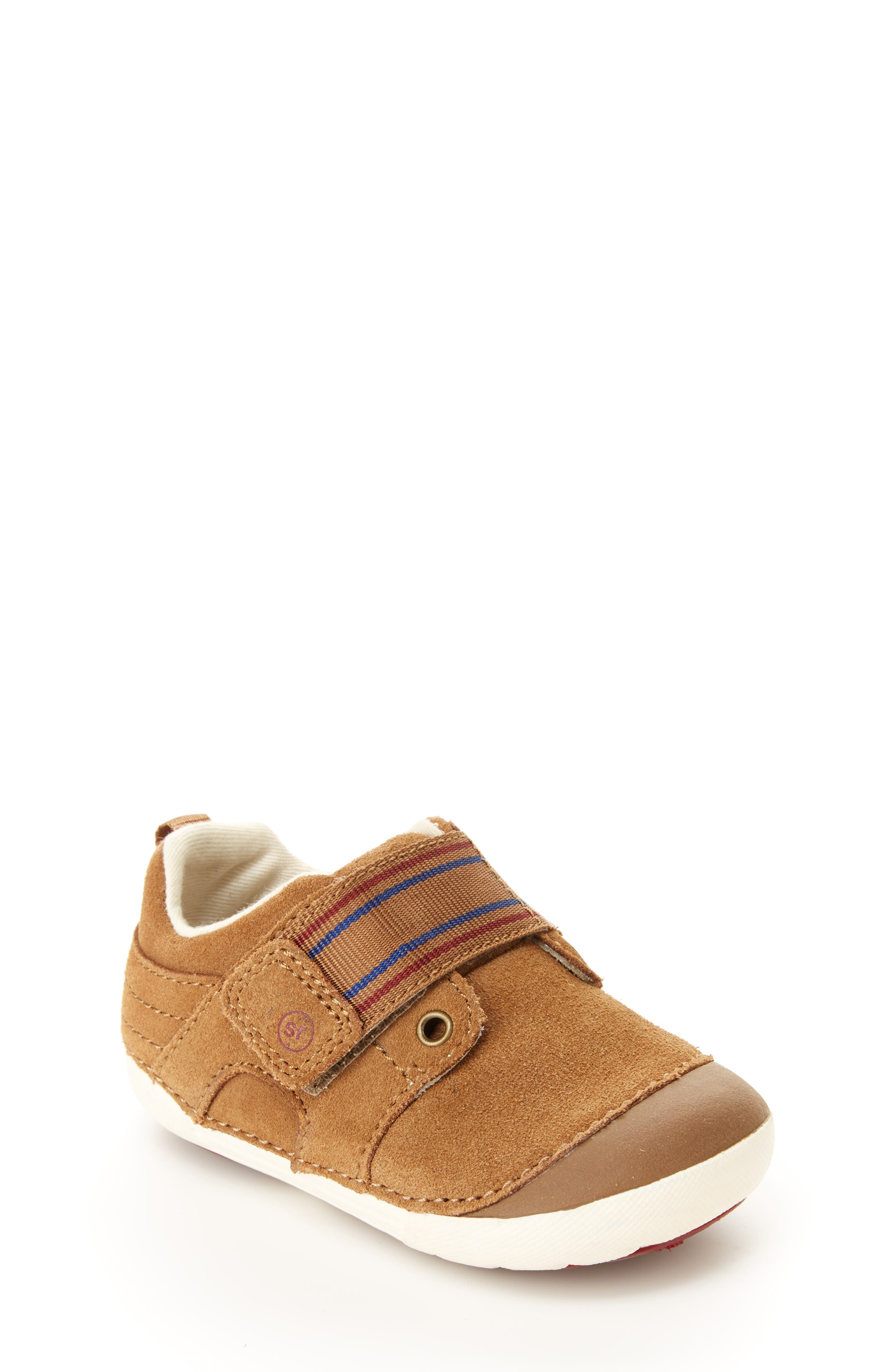 STRIDE RITE, Soft Motion<sup>™</sup> Cameron Sneaker, Main thumbnail 1, color, BROWN