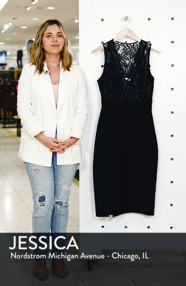 Kate V-Neck Lace Sheath Dress, sales video thumbnail