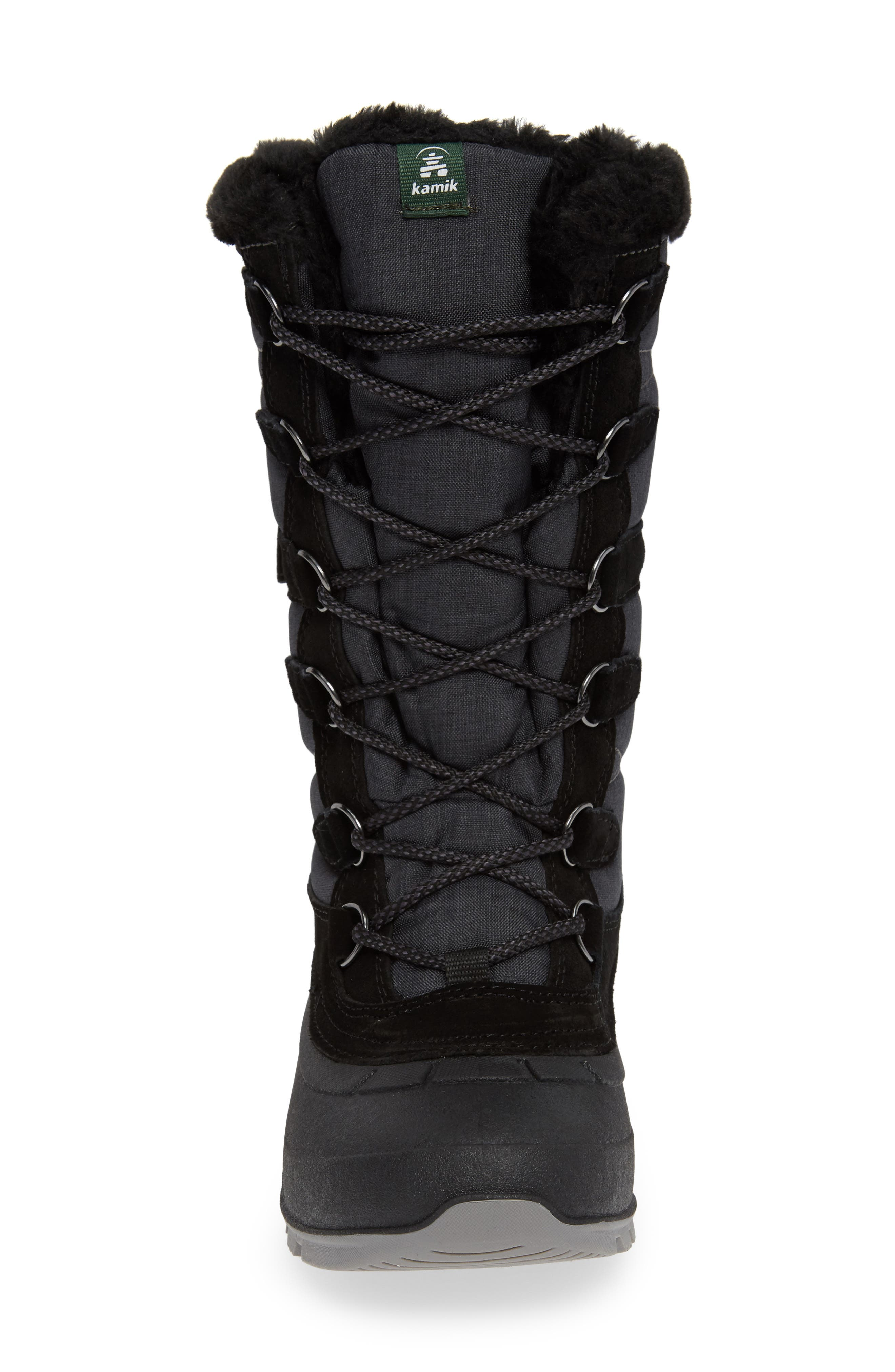 KAMIK, Snovalley2 Waterproof Thinsulate<sup>®</sup>-Insulated Snow Boot, Alternate thumbnail 4, color, 001