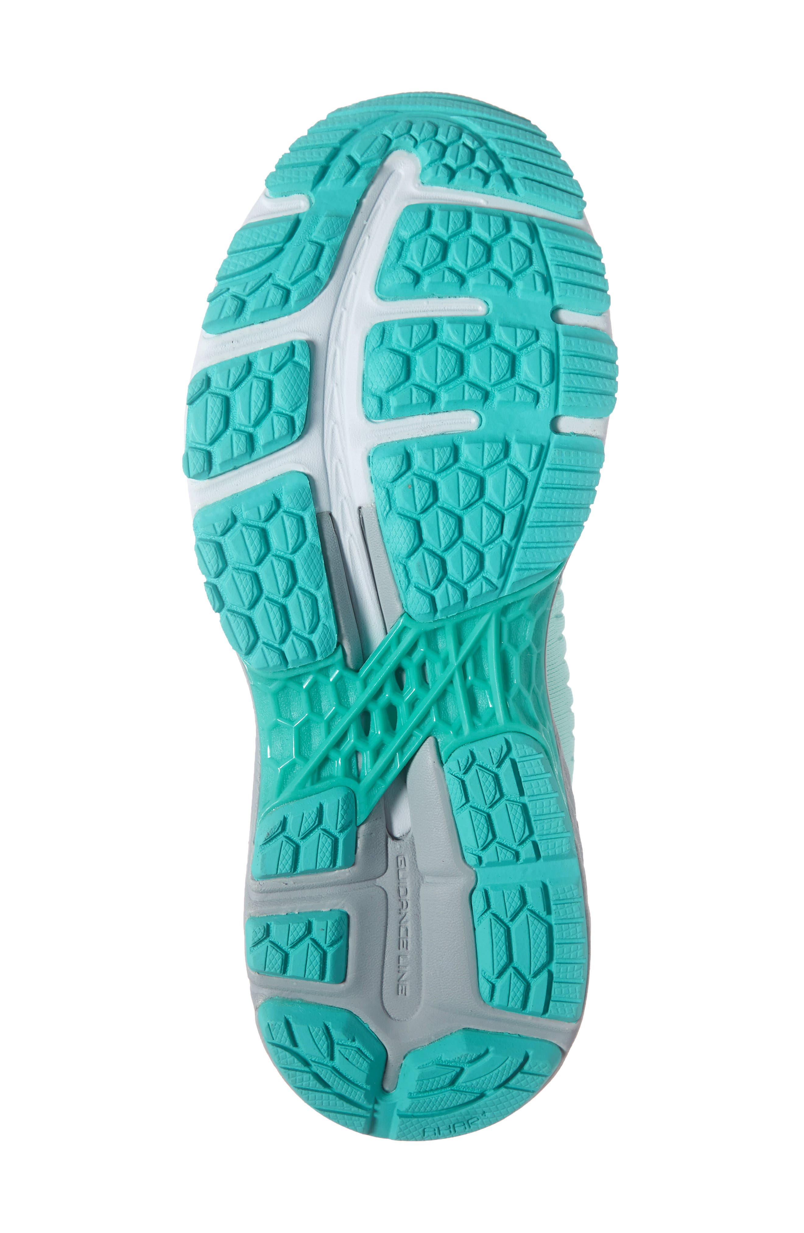 ASICS<SUP>®</SUP>, GEL-Kayano<sup>®</sup> 25 Running Shoe, Alternate thumbnail 6, color, ICY MORNING/ SEA GLASS
