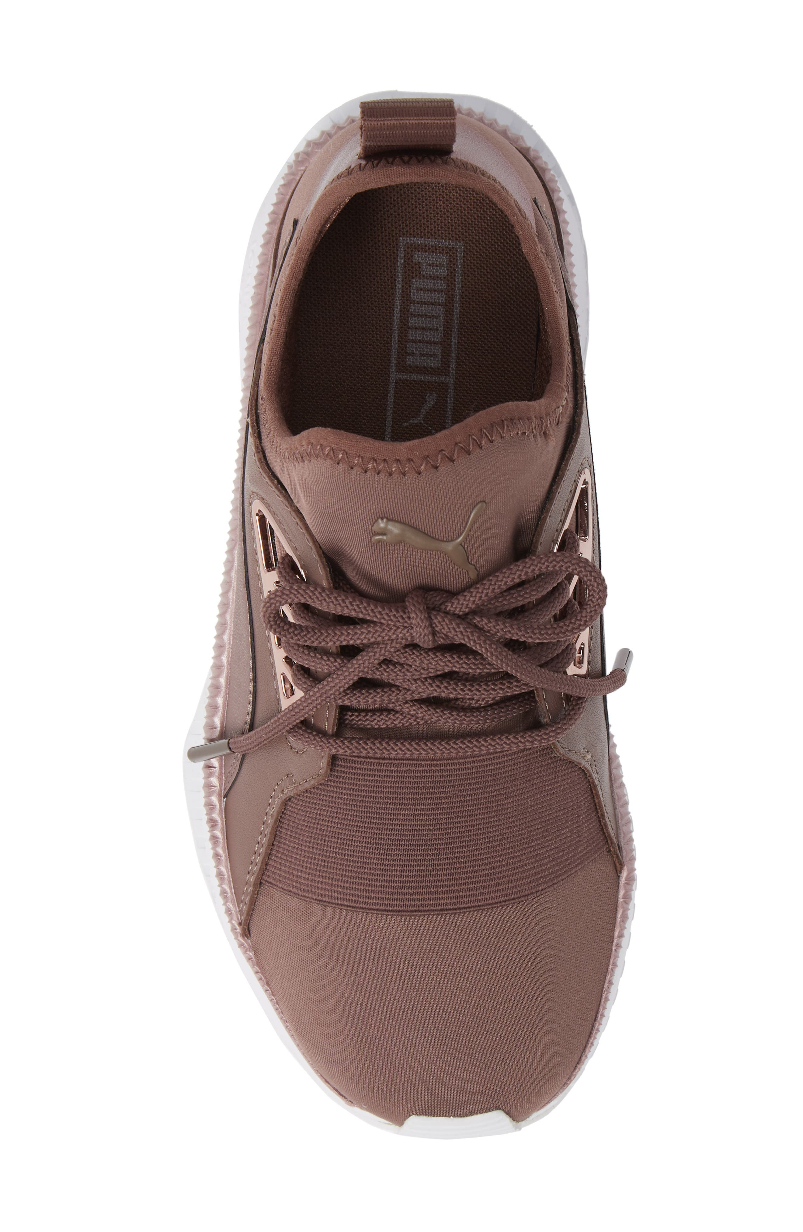 PUMA, TSUGI Apex Jewel Sneaker, Alternate thumbnail 5, color, PEPPERCORN/ PEPPERCORN