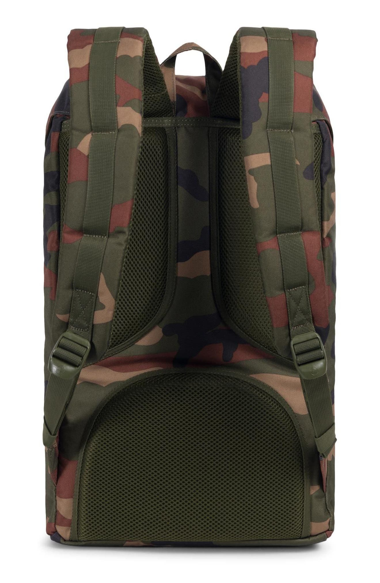 HERSCHEL SUPPLY CO., Little America Backpack, Alternate thumbnail 2, color, WOODLAND CAMO