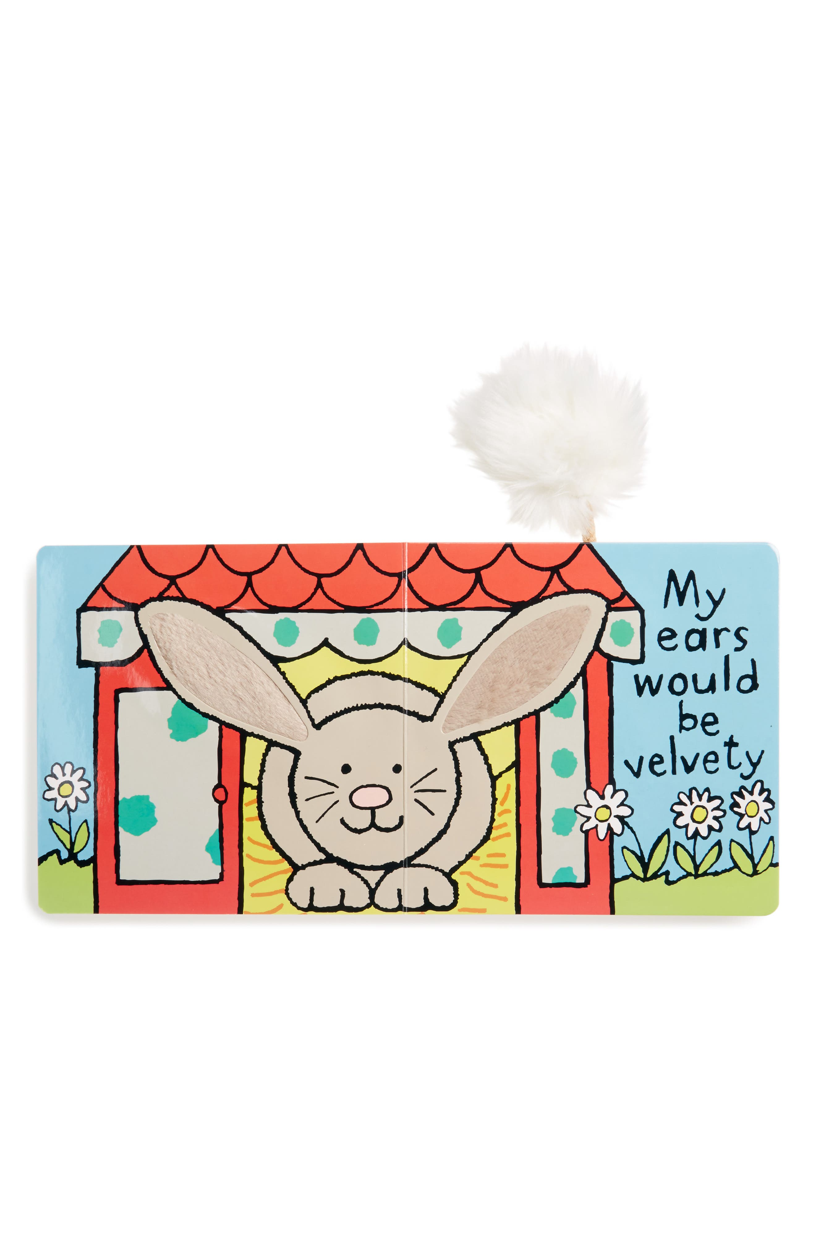 JELLYCAT, If I Were A Bunny' Board Book, Alternate thumbnail 2, color, GREY