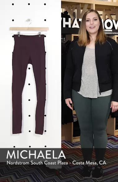 Divine High Waist Rib Leggings, sales video thumbnail
