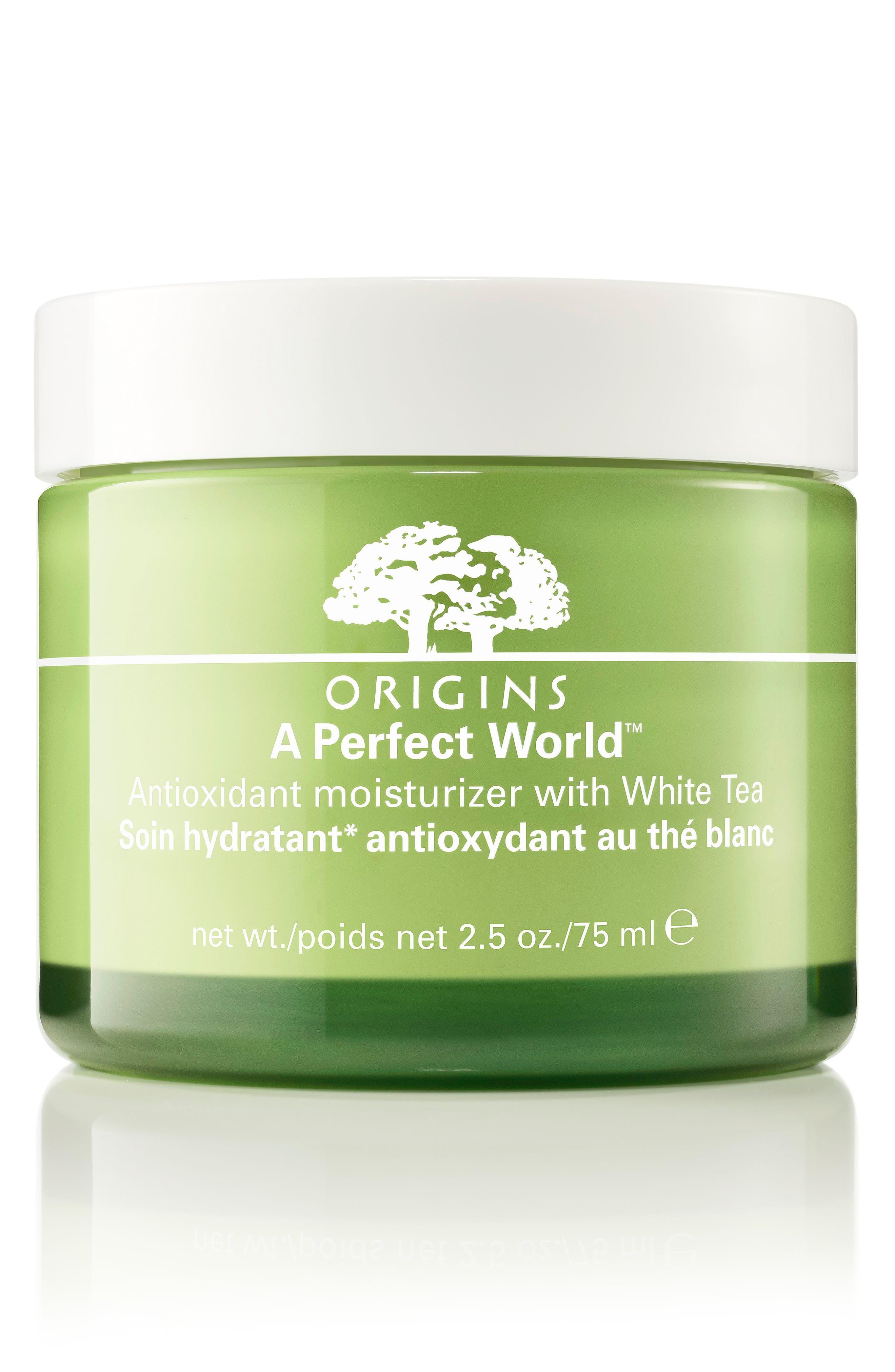 ORIGINS, A Perfect World<sup>™</sup> Antioxidant Moisturizer with White Tea, Main thumbnail 1, color, NO COLOR