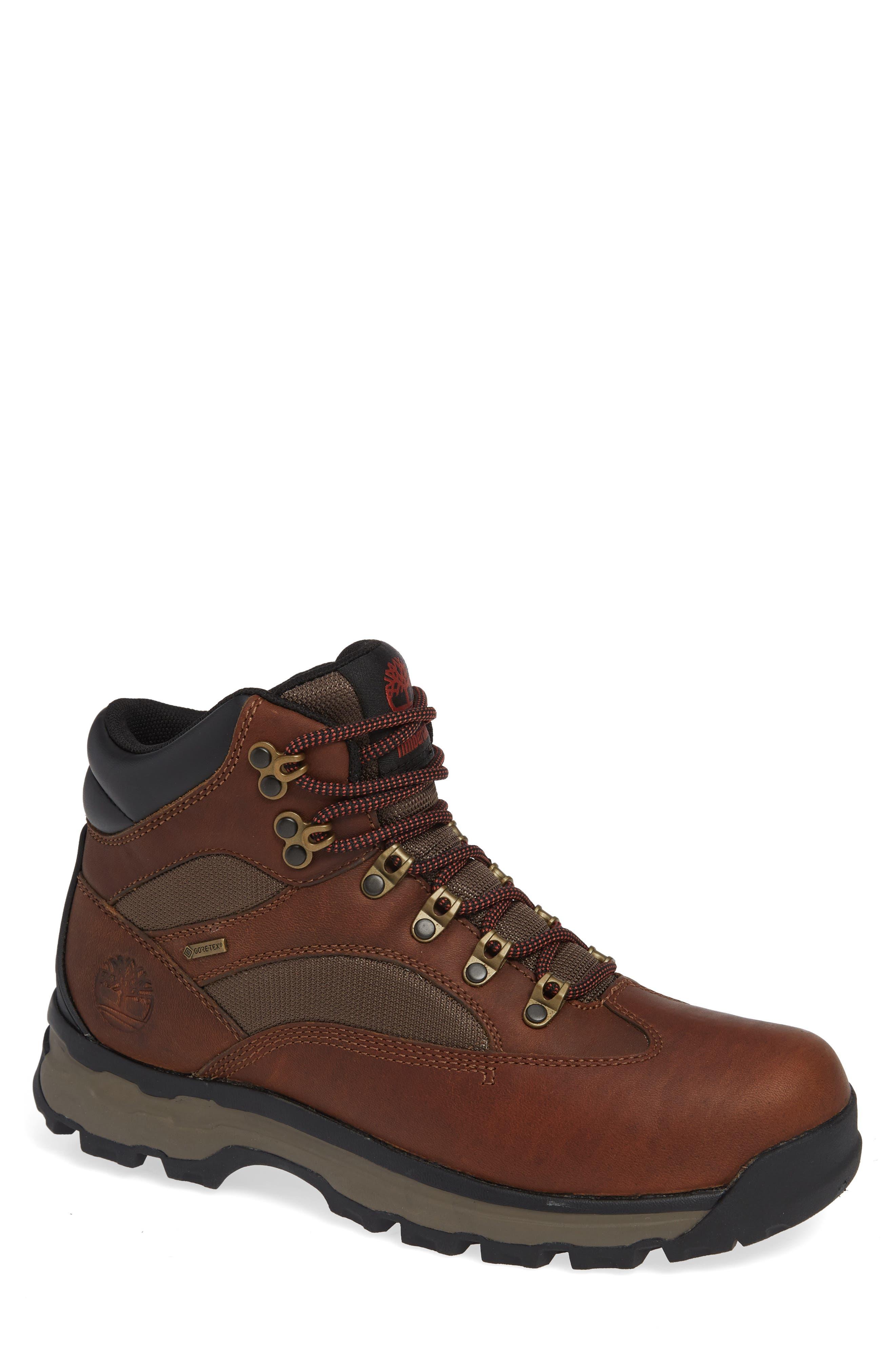 Timberland Chocorua Trail Gore-Tex Waterproof Hiking Boot, Brown