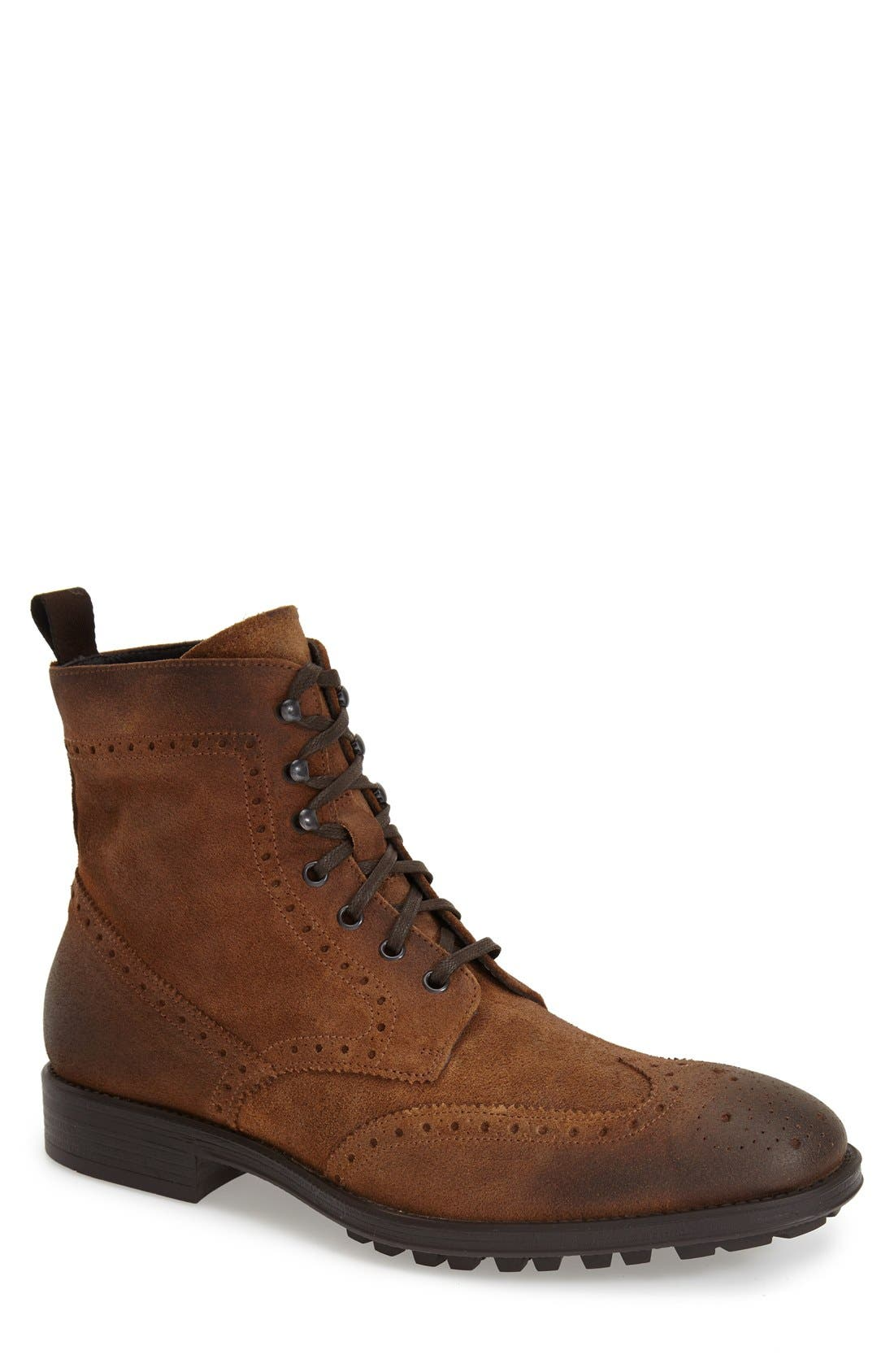 TO BOOT NEW YORK, 'Braeden Mid' Wingtip Boot, Main thumbnail 1, color, 231