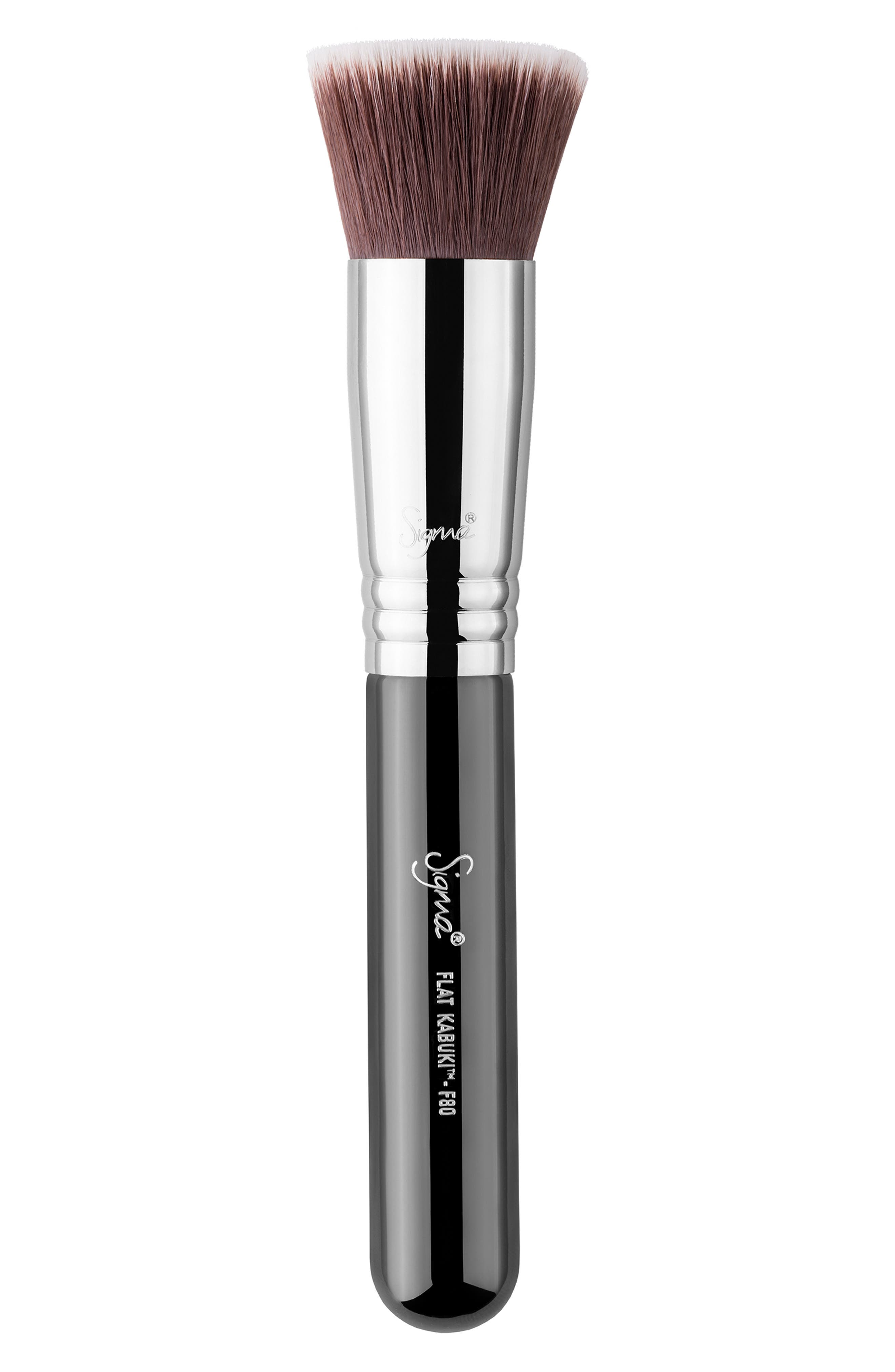 SIGMA BEAUTY, F80 Flat Kabuki<sup>™</sup> Brush, Main thumbnail 1, color, NO COLOR