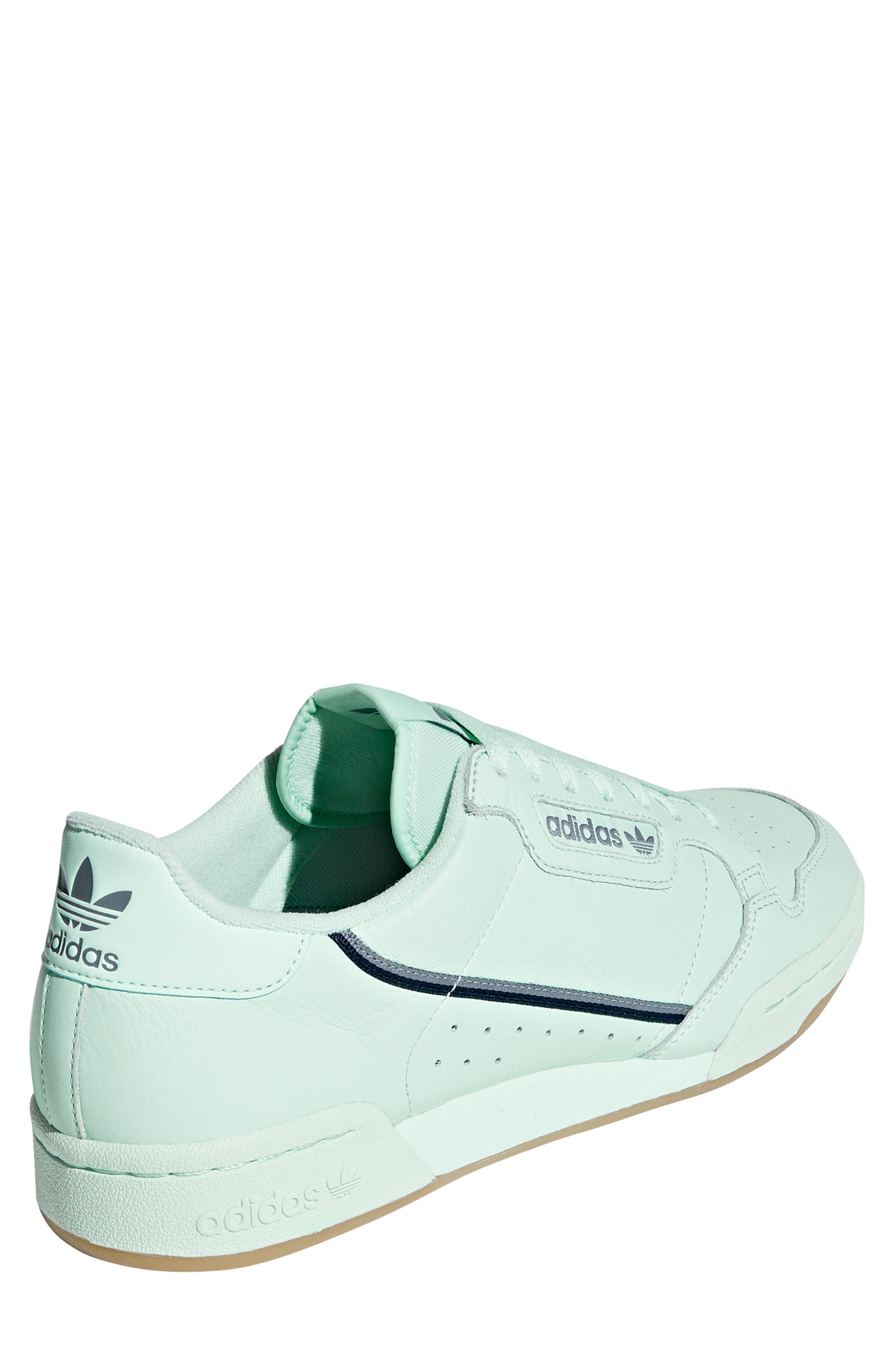 ADIDAS, Continental 80 Sneaker, Alternate thumbnail 2, color, ICE MINT/ NAVY/ GREY