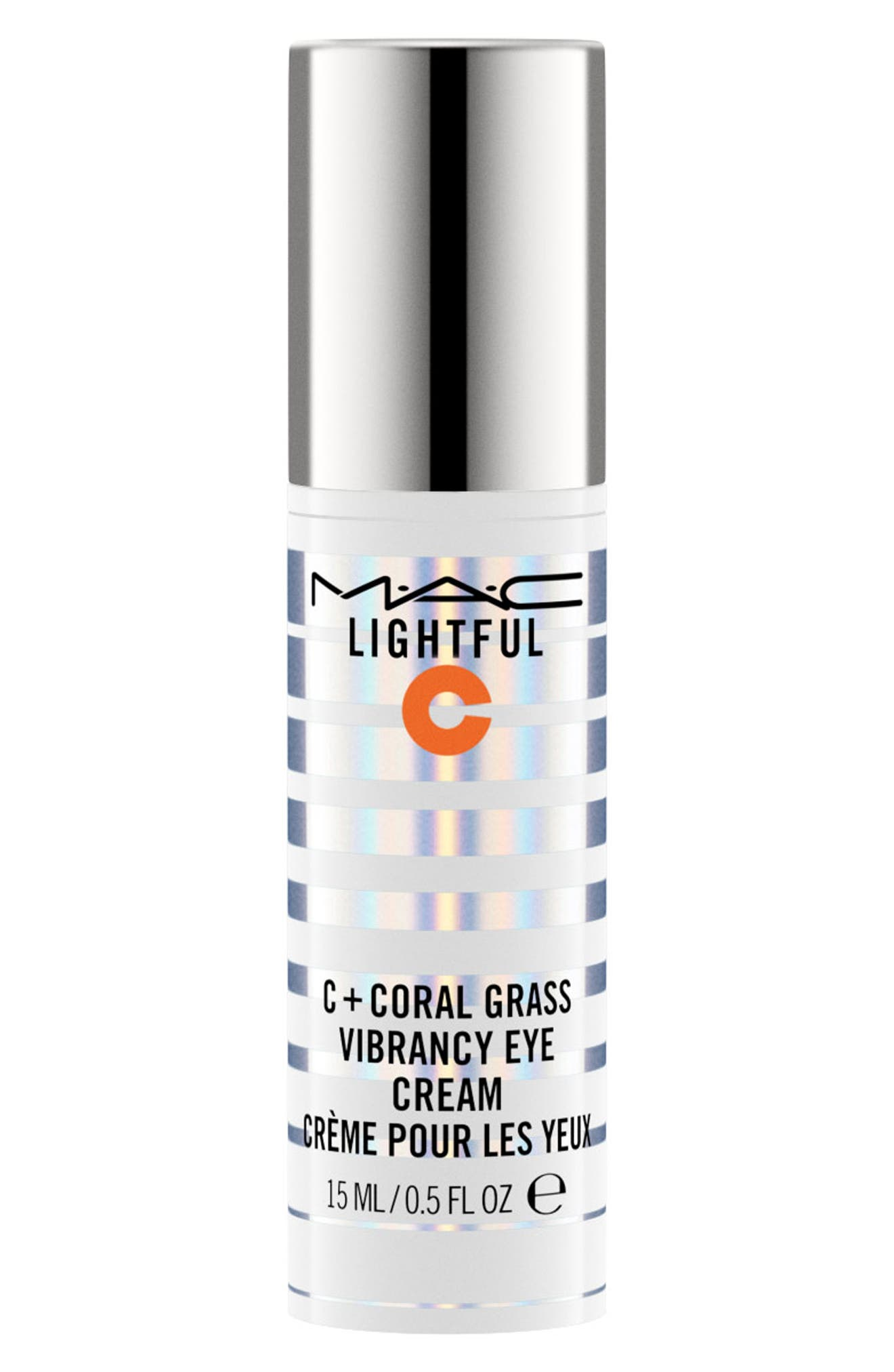 MAC COSMETICS MAC Lightful C Coral Grass Eye Cream, Main, color, NO COLOR