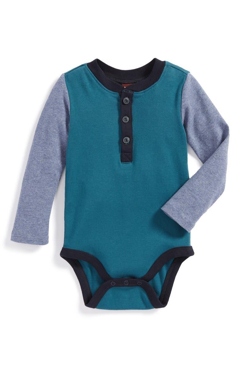 3efd3c46c Tea Collection 'Tamsa' Henley Bodysuit (Baby)   Nordstrom