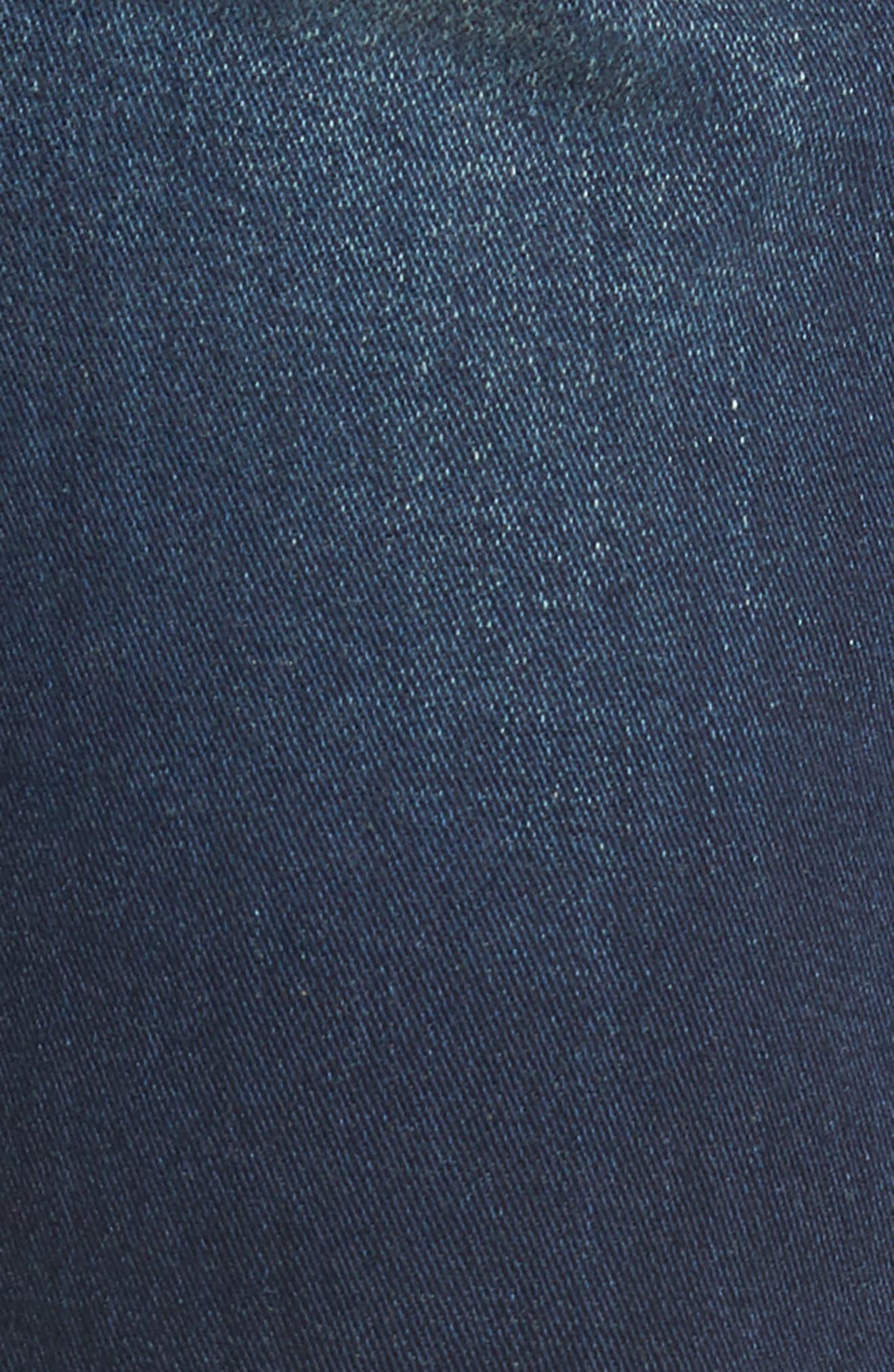 HUDSON JEANS, Blake Slim Fit Straight Leg Jeans, Alternate thumbnail 5, color, NORWOOD