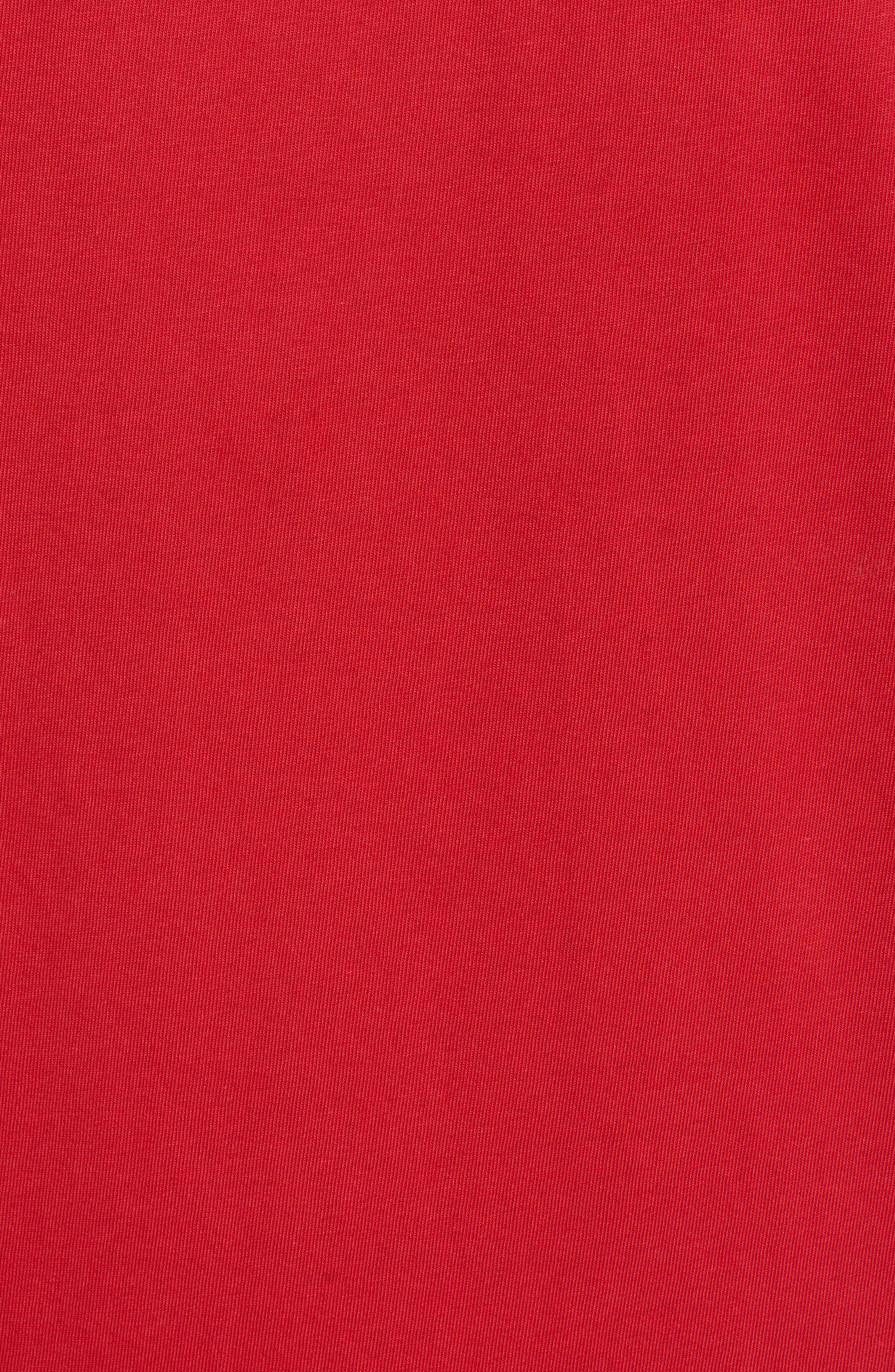 TOMMY BAHAMA, Alo-Ho Ho-Ha Graphic T-Shirt, Alternate thumbnail 5, color, SCOOTER RED
